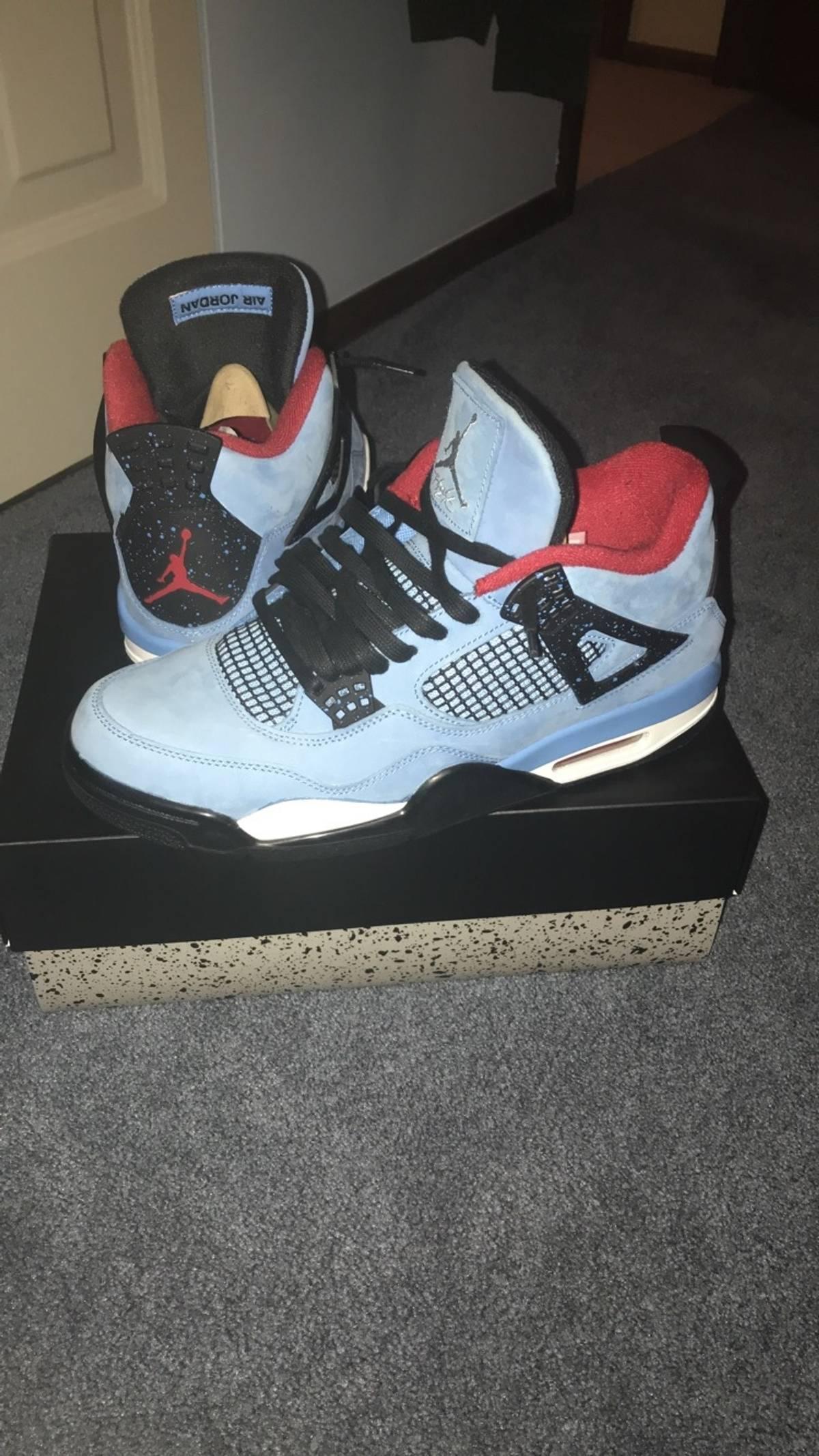 on sale 00a86 2d071 ... official store travis scott jordan 4 cactus jack size 10.5 hi top  sneakers for sale grailed