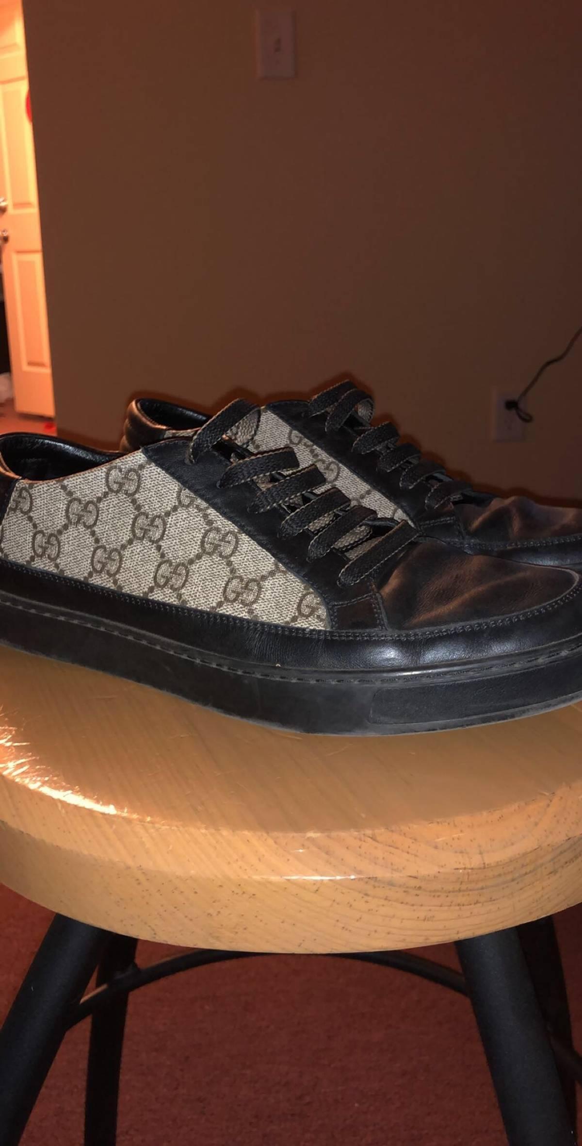 55eec1dde92f85 Gucci Gucci Mens Common Gg Low Top Sneaker | Grailed
