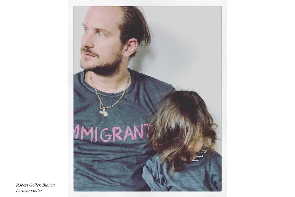 "RERELEASE: Robert Geller ""Immigrant"" T-Shirt Sale Benefiting the ..."