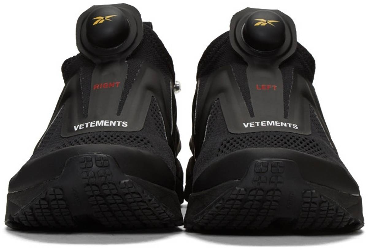 Reebok SSENSE Exclusive Black Reebok Edition Pump Supreme Sneakers Size 8   LowTop Sneakers for Sale  Grailed