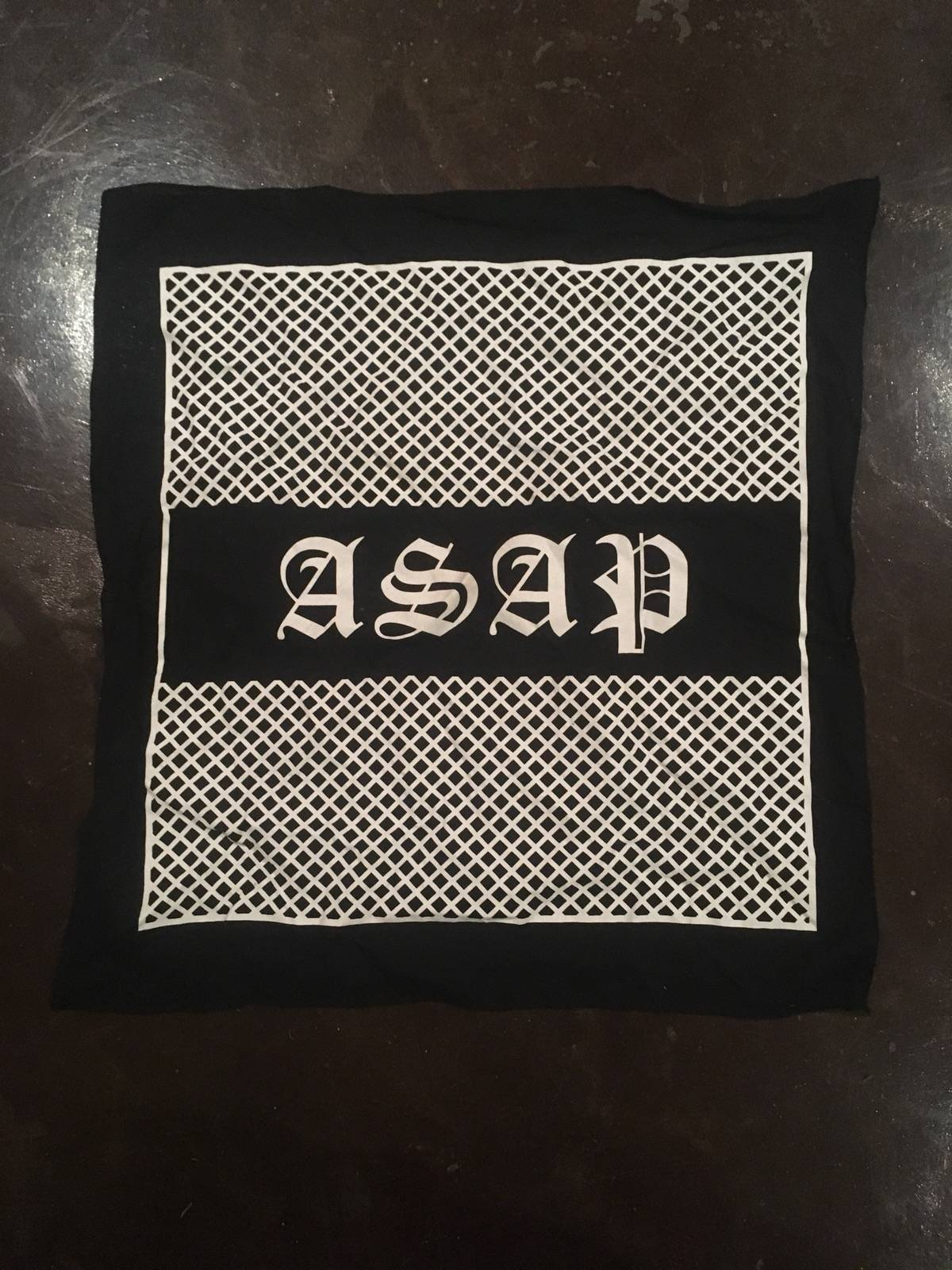 Asap rocky bandana size one size miscellaneous for sale grailed kristyandbryce Images