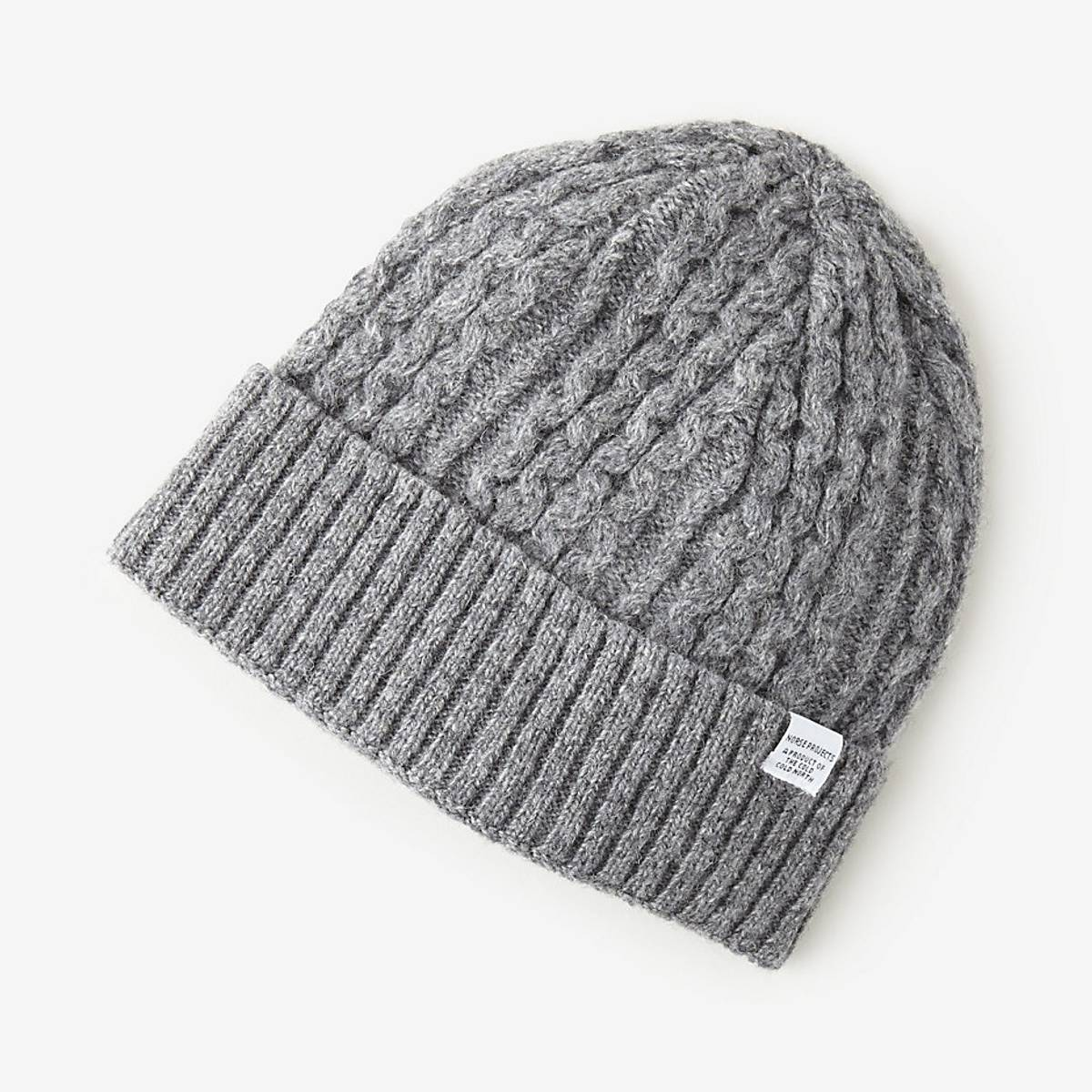 64fdfe6db99 Norse Projects Cable Knit Beanie