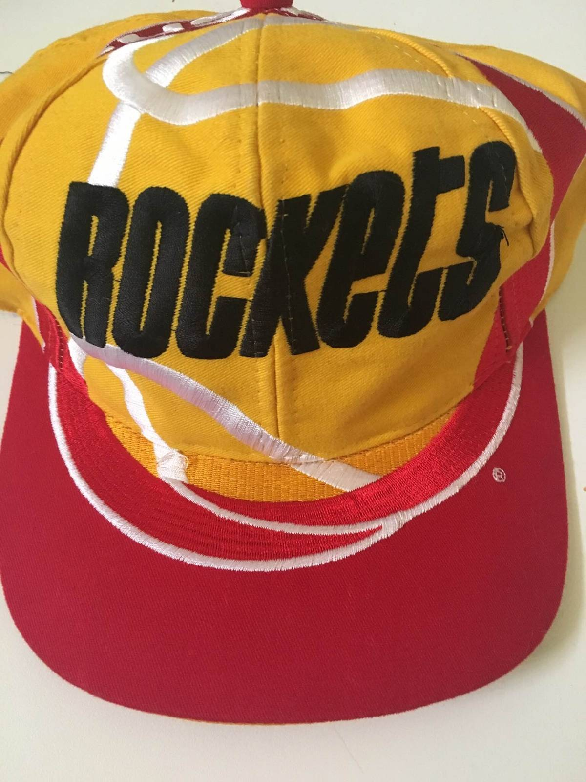 941a260a855 Nba RARE Houston Rockets Vintage Snapback Size one size - Hats for Sale -  Grailed