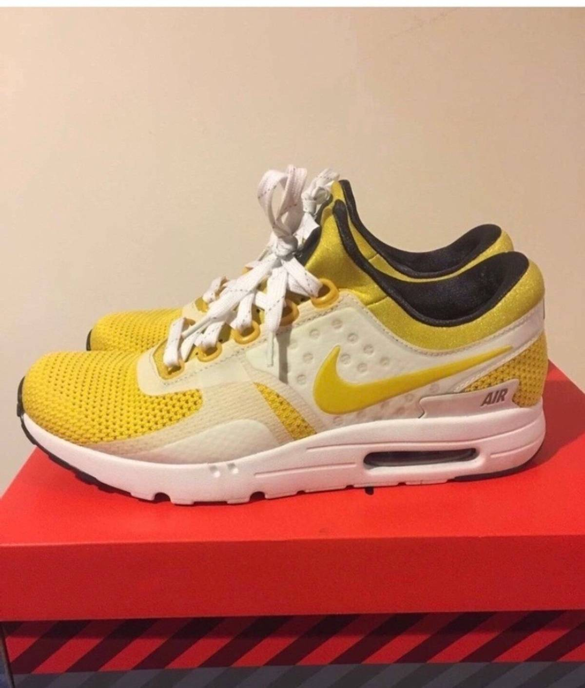 info for f1150 3bed0 Nike Nike Air Max Zero QS Tinker Sketch White Vivid Sulfur Size 9 - Low-Top  Sneakers for Sale - Grailed