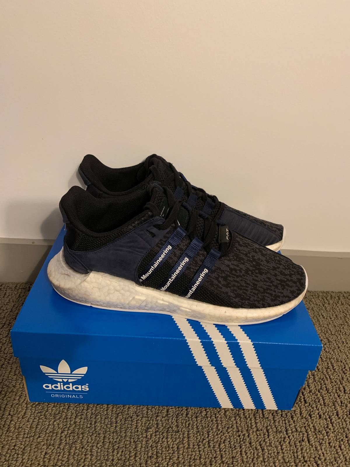 buy online b6006 6e79f Adidas adidas EQT Support Future White Mountaineering Navy Size 10 -  Low-Top Sneakers for Sale - Grailed