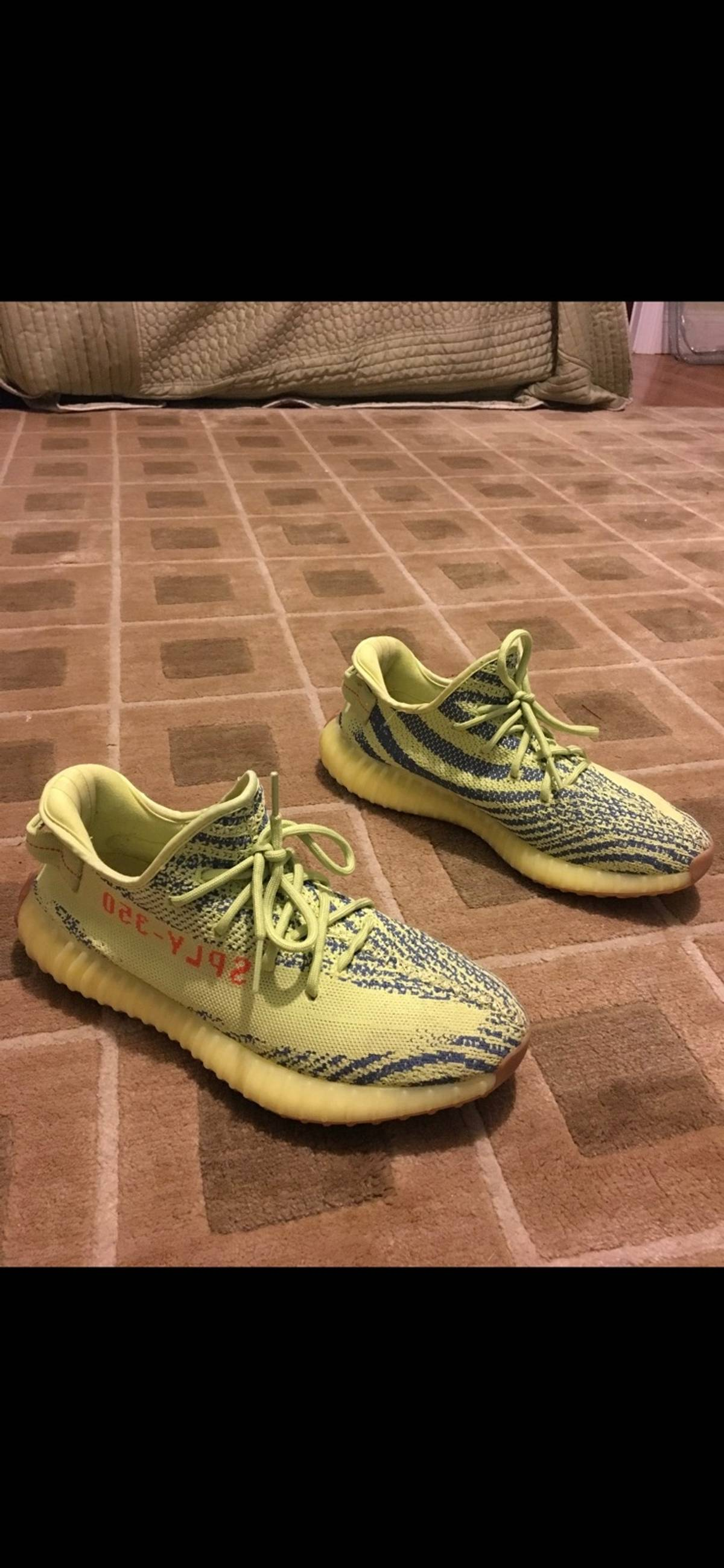 best website 72cc2 491d6 Adidas Yeezy Semi Frozen Yellow Size 11 $243