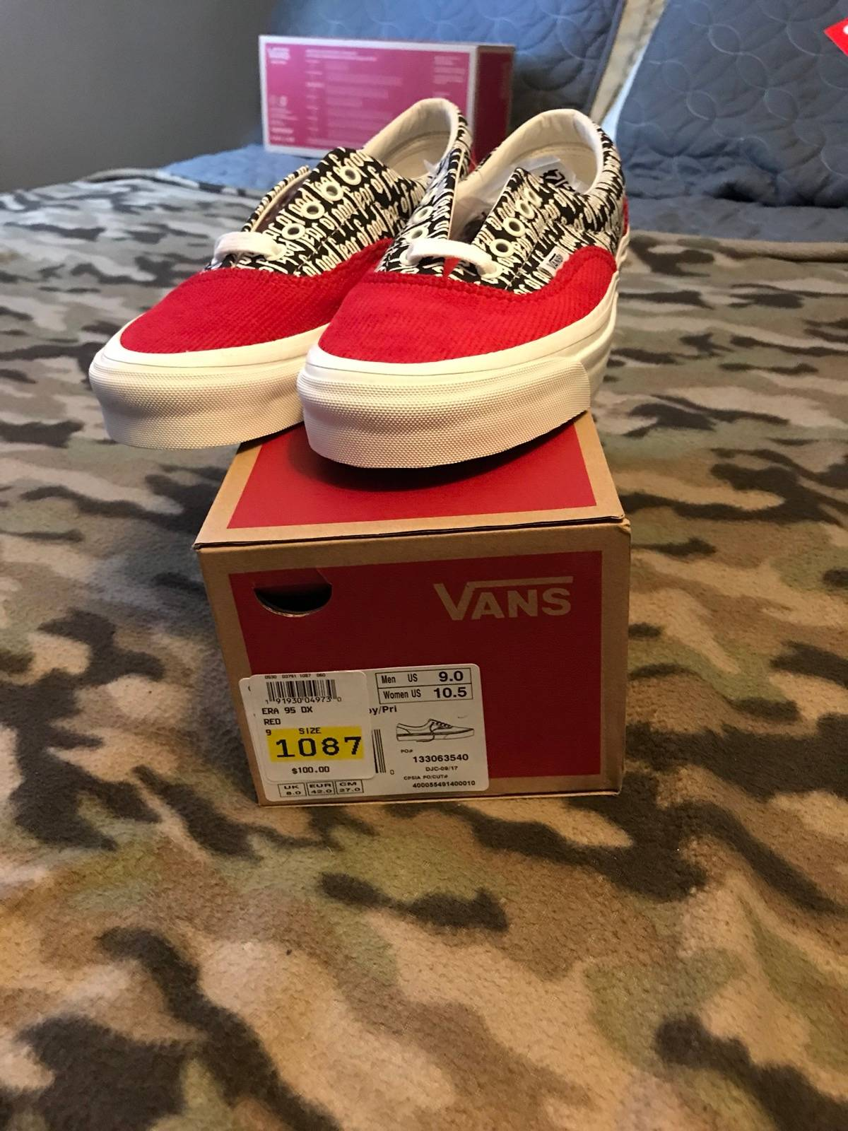 2a2806a00eb Fear of God Fear Of God Vans Size 9 - Low-Top Sneakers for Sale ...