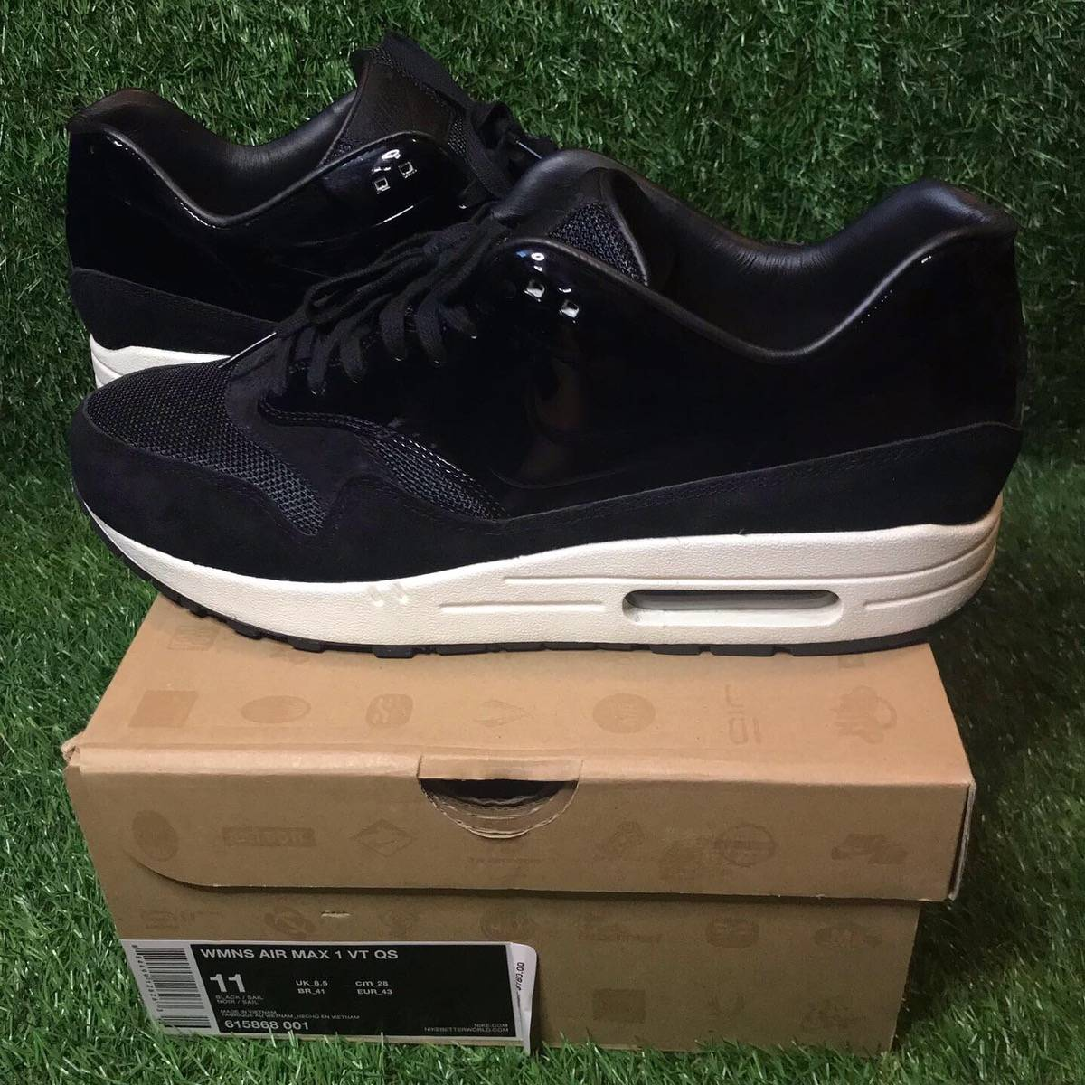 Nike Women's Nike Air Max 1 Vt Qs Black Size 11 $36