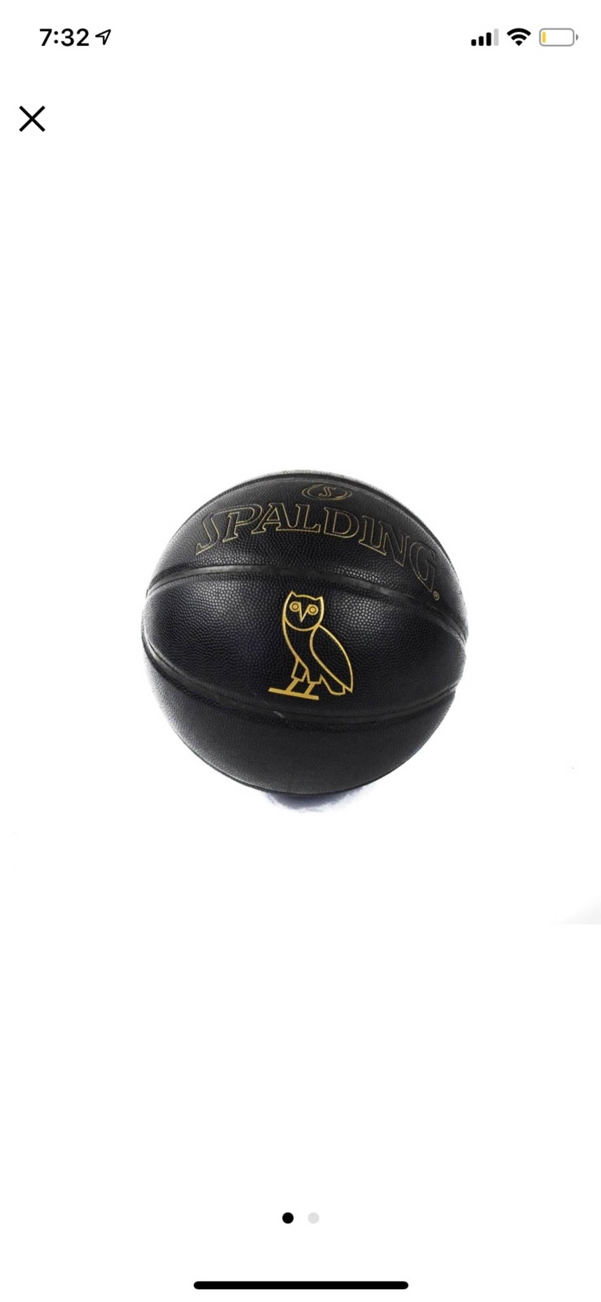 9923fa349f9 Octobers Very Own Raptors Ovo Basketball | Grailed