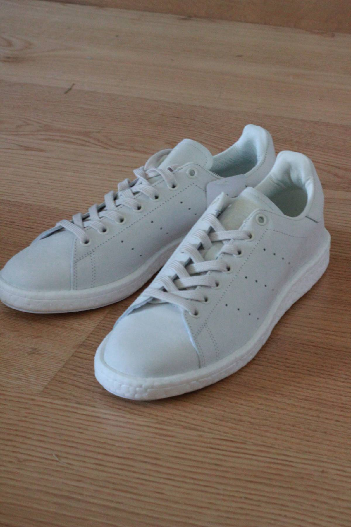 hot sale online 14299 c1949 Adidas Sneakersnstuff x Adidas Stan Smith Boosts (BY2281) - Size US 10 -  New w Box Size 10 - Low-Top Sneakers for Sale - Grailed