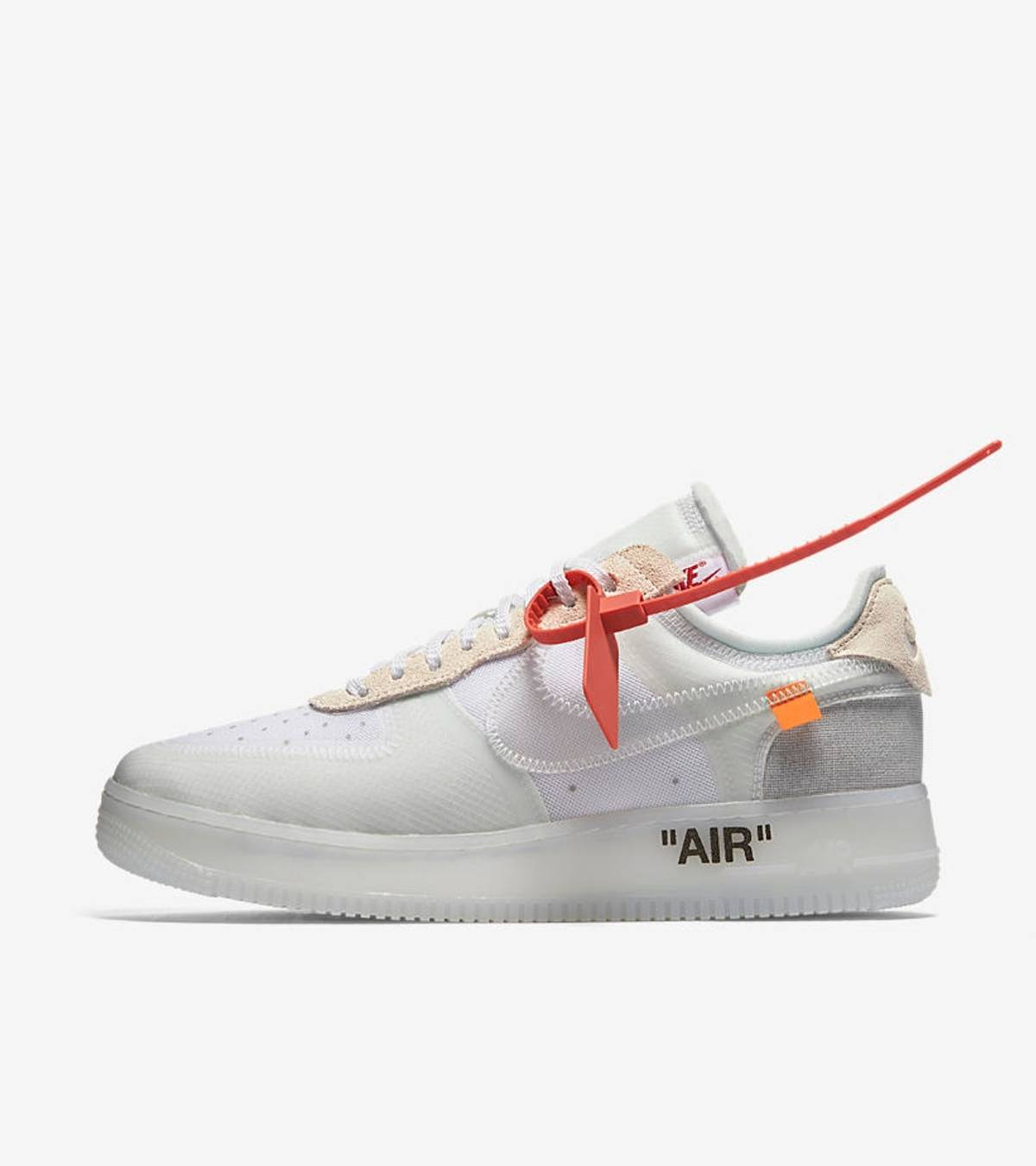 Nike × Off White Nike Air Force 1 Low CO Virgil Abloh Size 6.5 $514