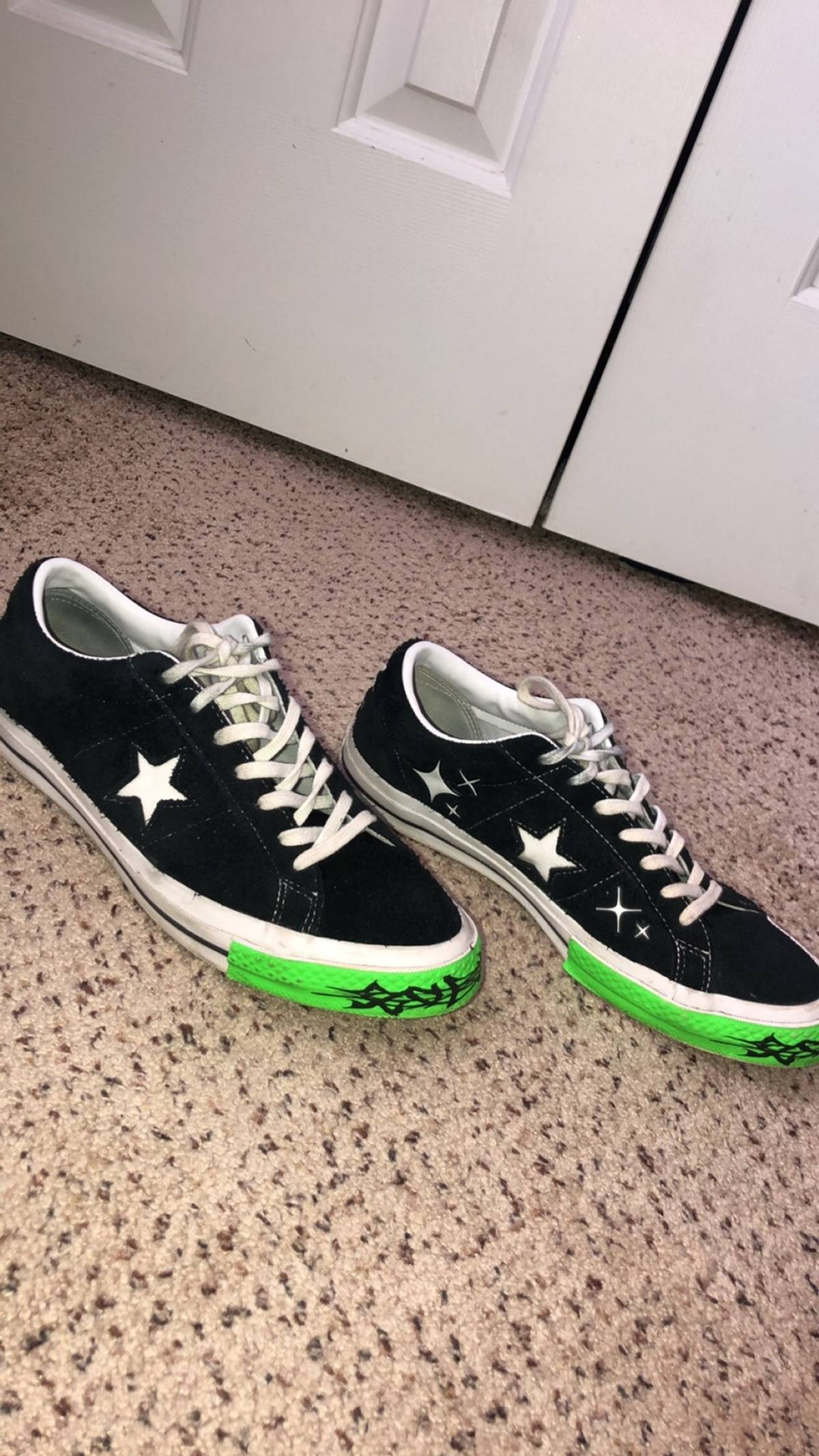 Converse × Sad Boys × Yung Lean Yung Lean Sad Boys Toxic One Stars Size 11 $342