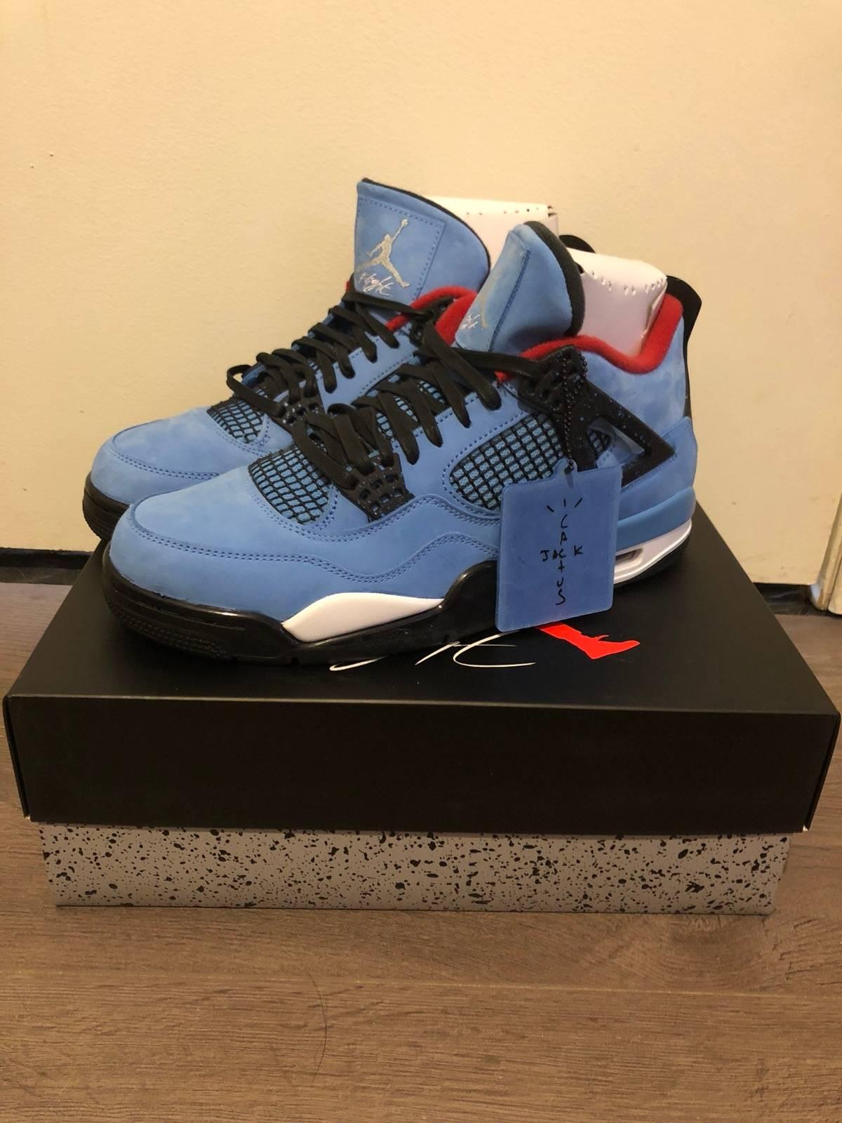 "27d6d6b07949 Travis Scott ""Cactus Jack"" Air Jordan 4s Size 10.5 - Hi-Top Sneakers for  Sale - Grailed"