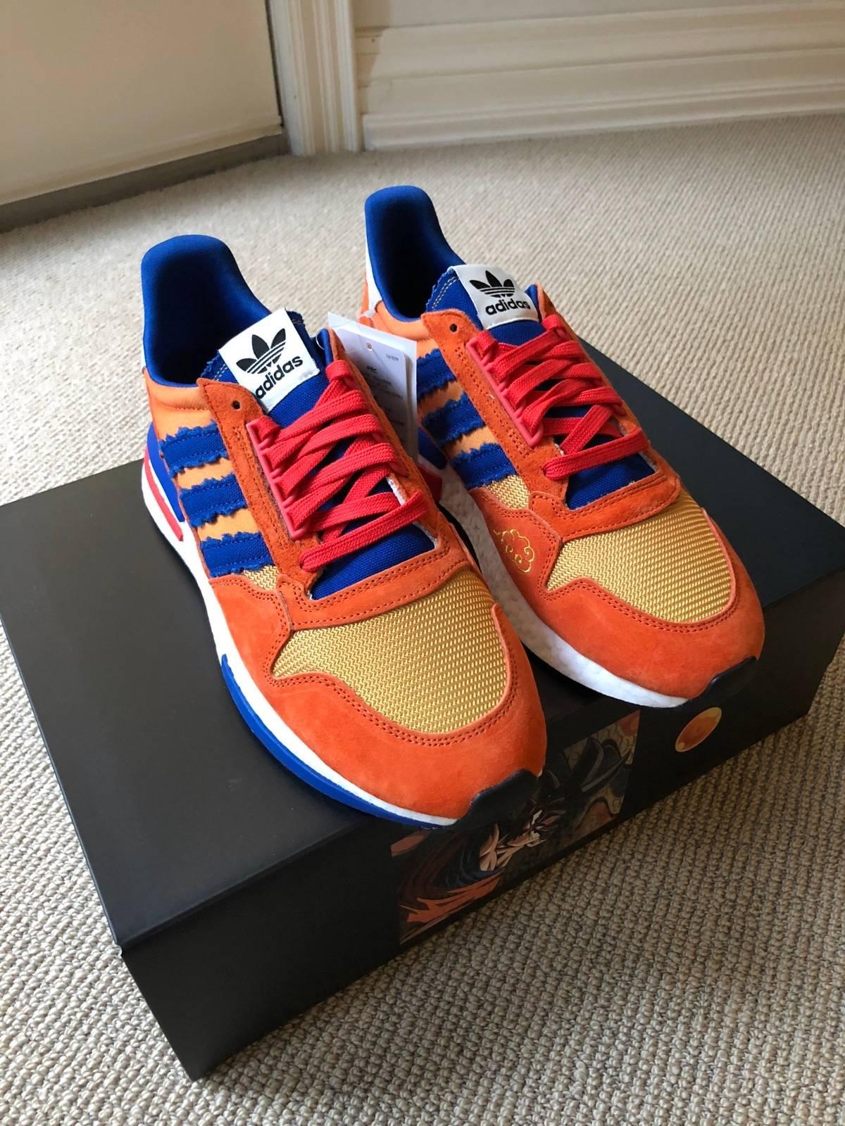 buy popular 24e07 bdd5d Adidas Adidas Zx 500 Rm Dragon Ball Z Son Goku Size 11 $285