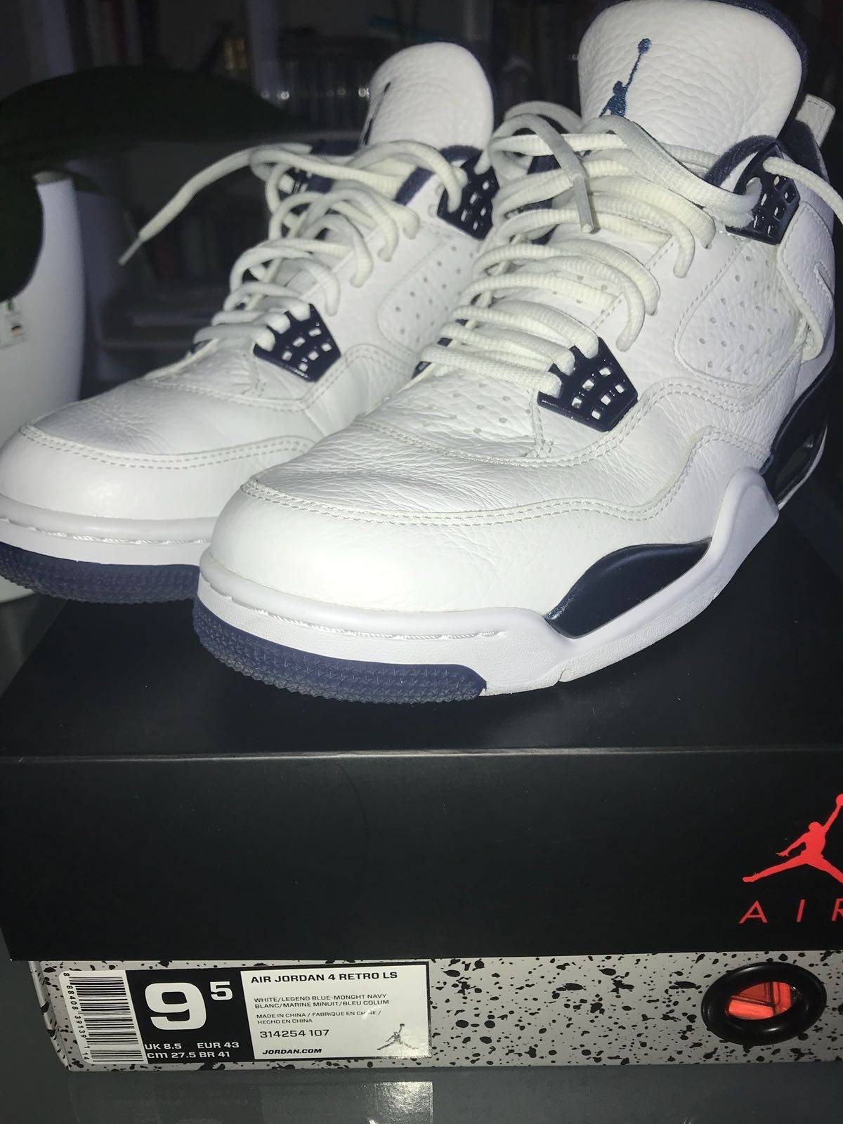 super popular 7d2fa b9ec6 ... coupon code for nike jordan retro iv columbia 2015 size 9.5 boots for  sale grailed 80040