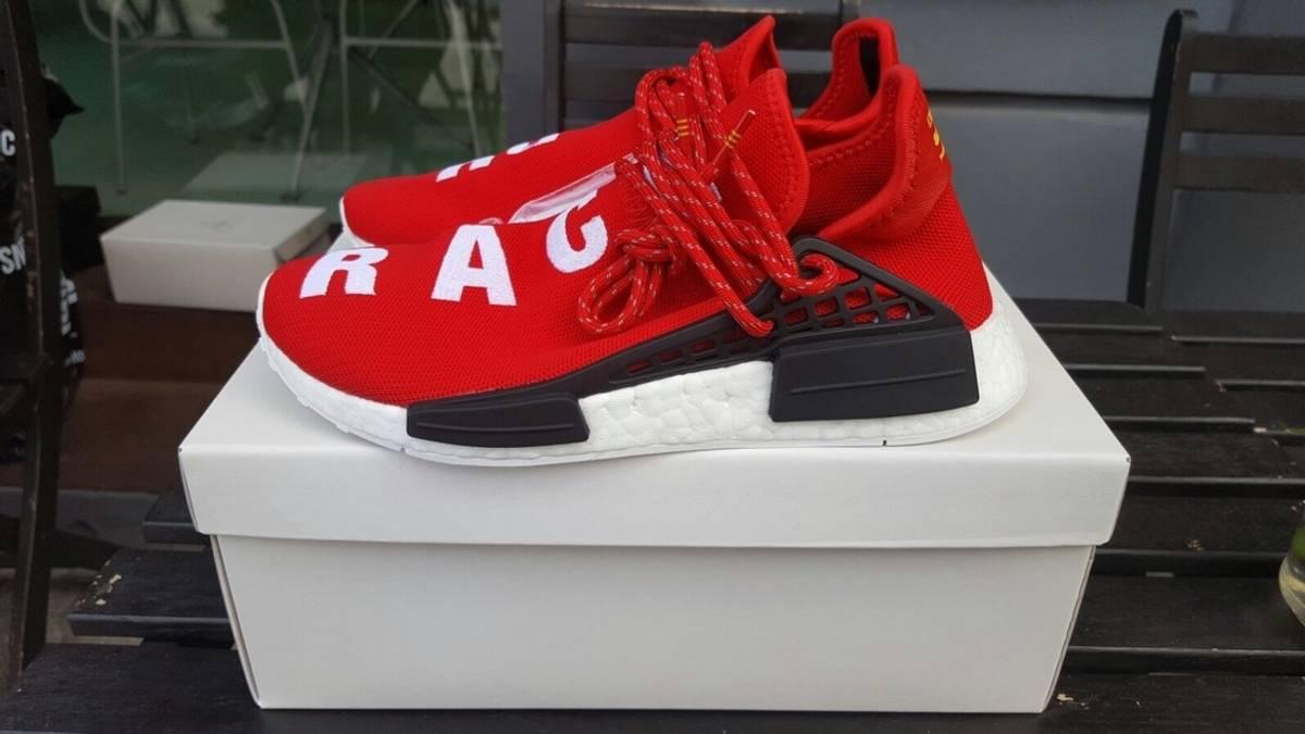 timeless design 0f8f4 08f8f Adidas × Pharrell Last Price Drop Adidas Nmd Pharrell Hu Human Race Scarlet  Red Size 10 $400