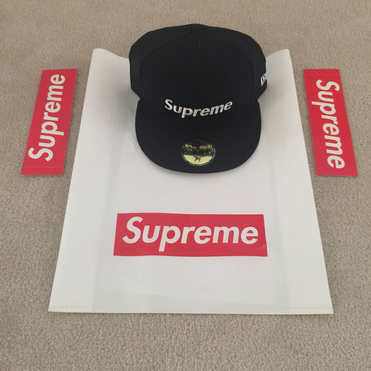 c67e943d10f Supreme RIP New Era - Navy - 7 3 8 Size one size - Hats for Sale ...