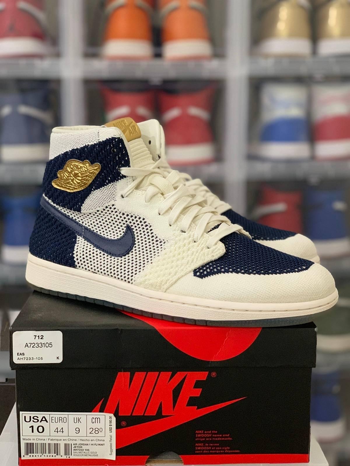 d61ac7e13705 Nike × Jordan Brand ×. Nike Air Jordan 1 Retro High Flyknit ...