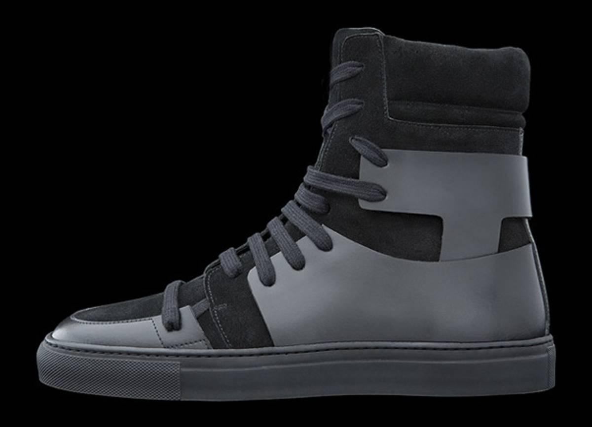 10578ab0ececac Kris Van Assche FW 2010 Black Hitop sneaker Size 9.5 - Hi-Top Sneakers for  Sale - Grailed