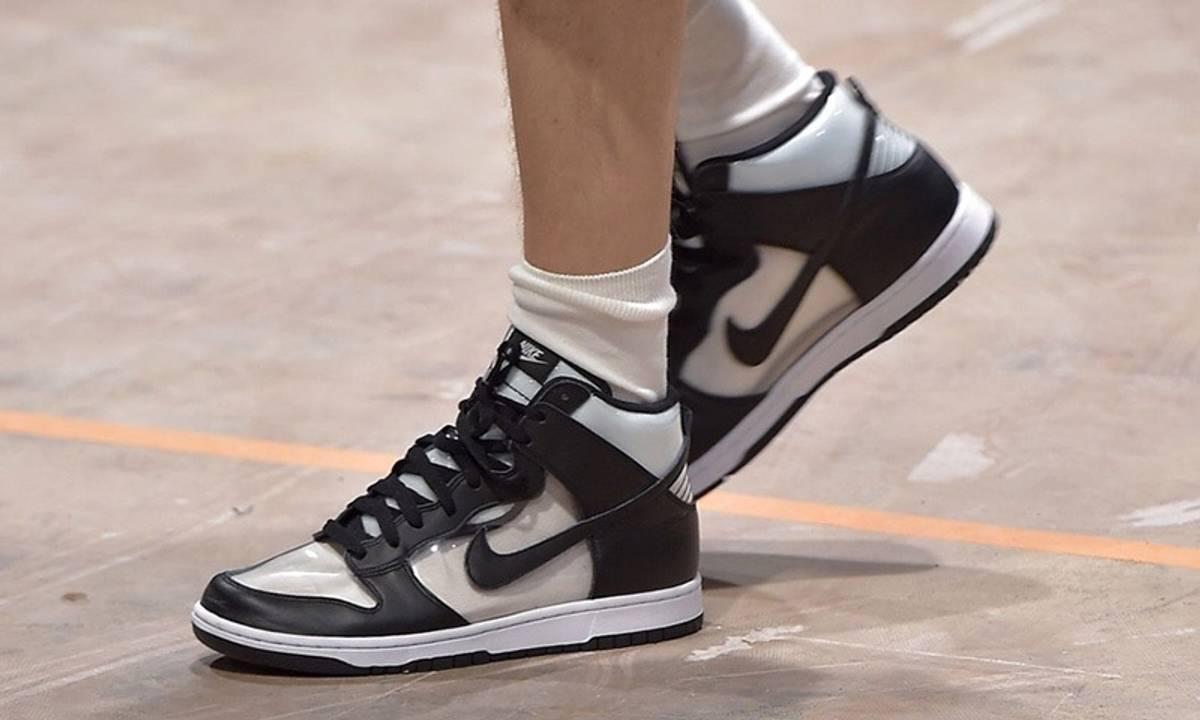 the latest d7ea4 58a8f Comme Des Garcons × Nike Dunk Hi Retro Cdg Jordan 1 Size 9 $483