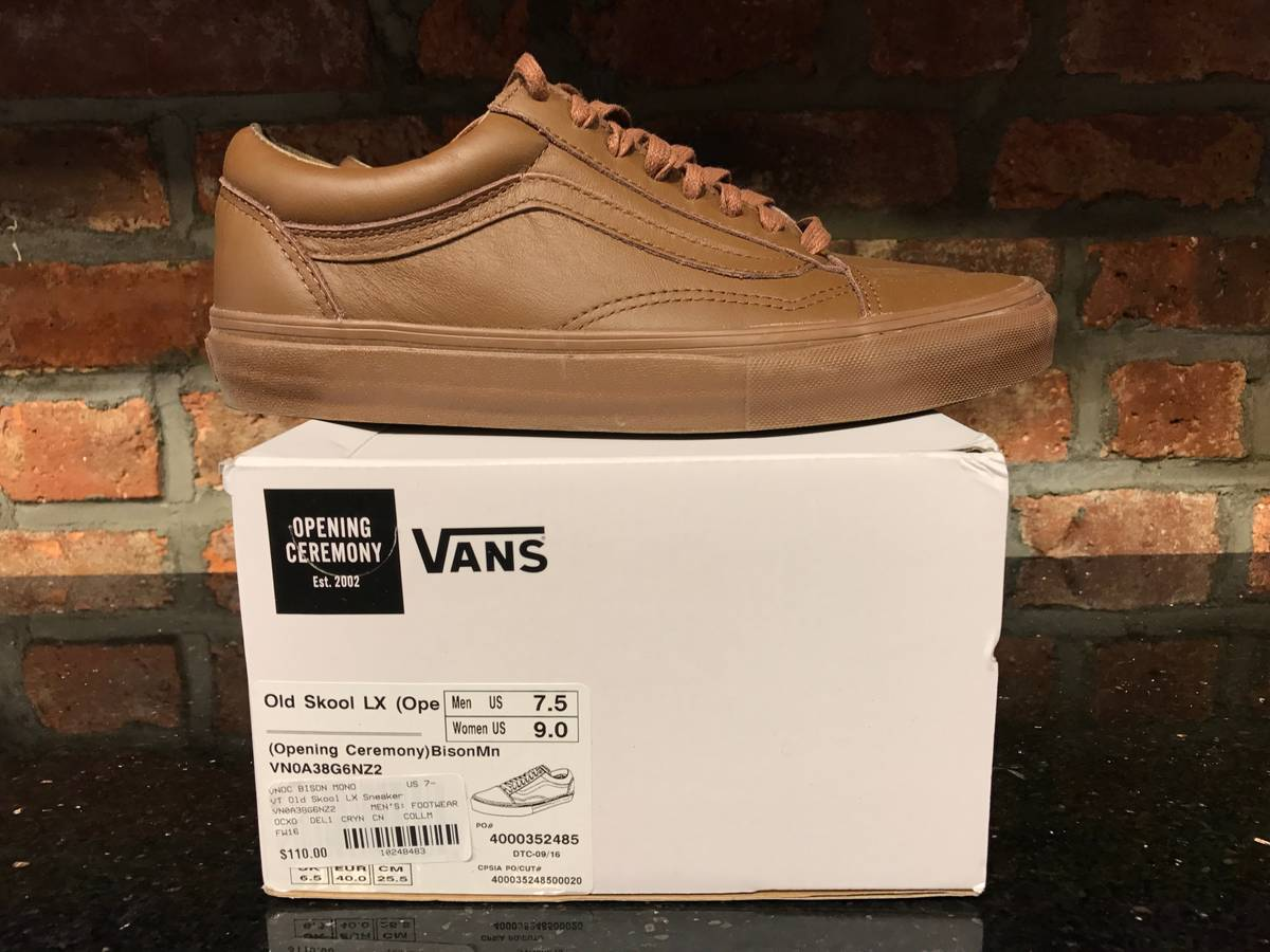 869a7101a29a Opening Ceremony Vans X Opening Ceremony Old Skool LX Size 7.5 - Low-Top  Sneakers for Sale - Grailed