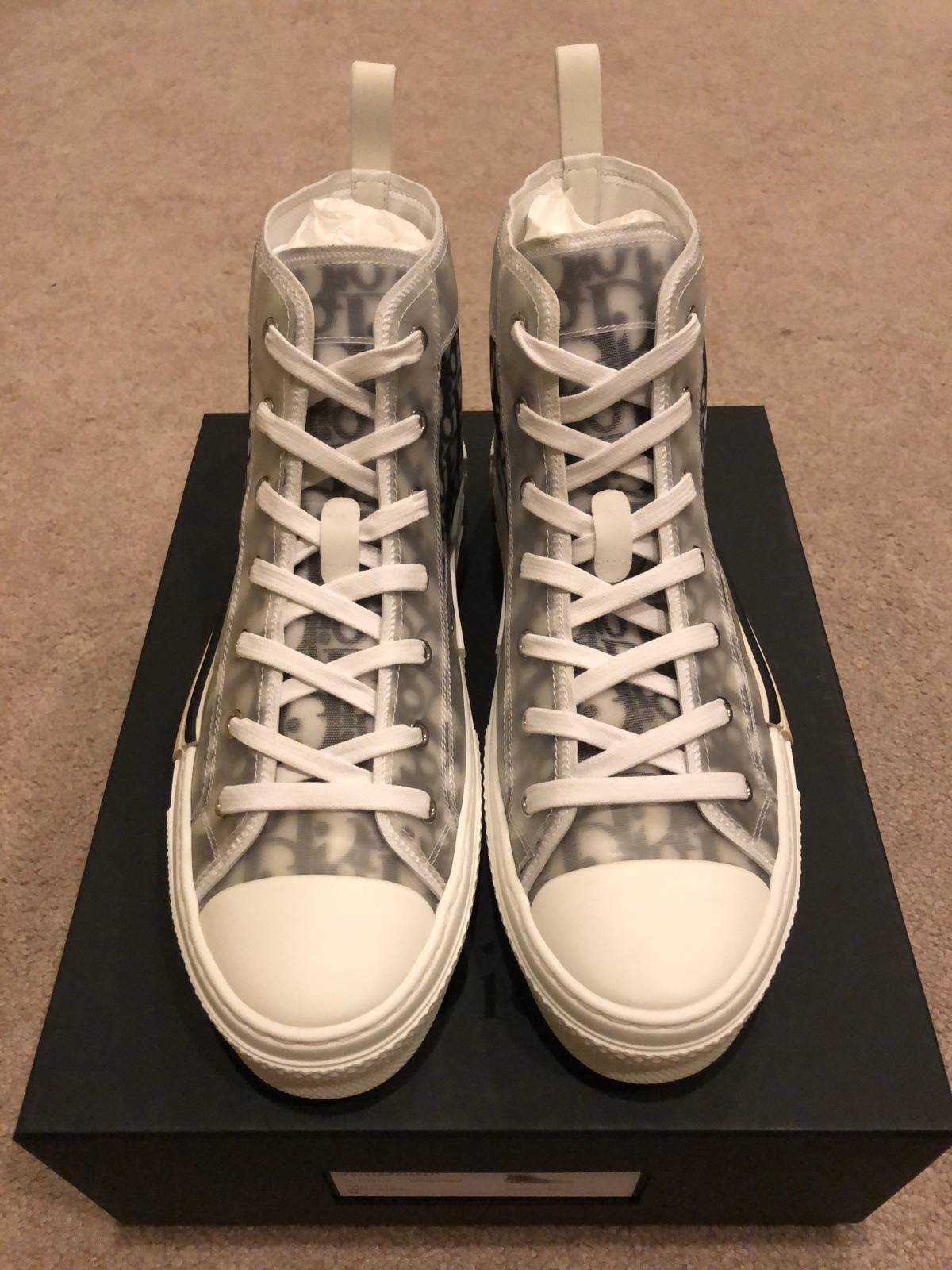 Dior Dior X Kim Jones B23 High-Top Oblique Sneaker Size 11 - Hi-Top  Sneakers for Sale - Grailed a2fa17ca8