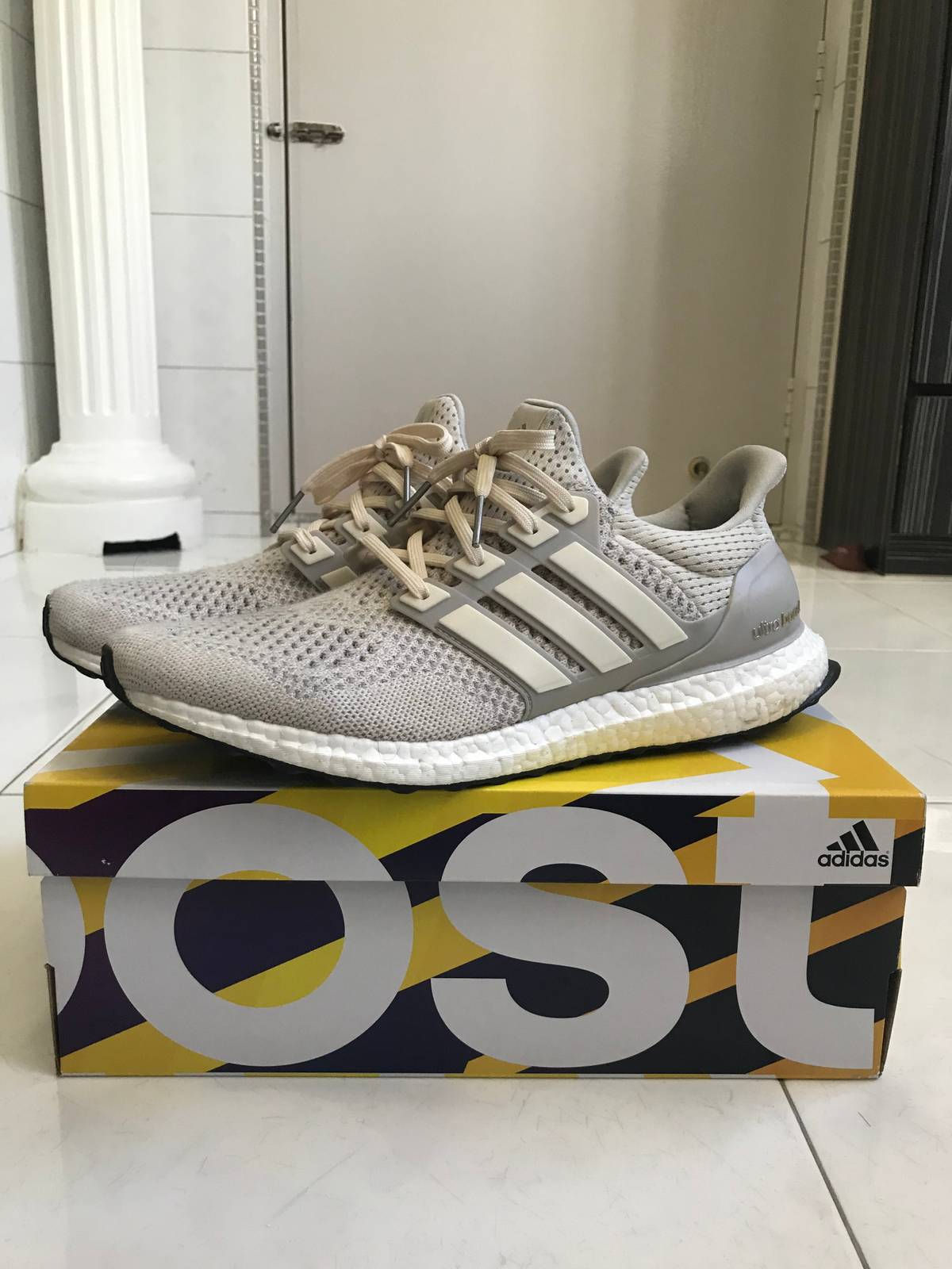 "9fabd3dd72d6b3 Adidas Ultra Boost 1.0 ""Light Tan Cream"" Size 11  550"