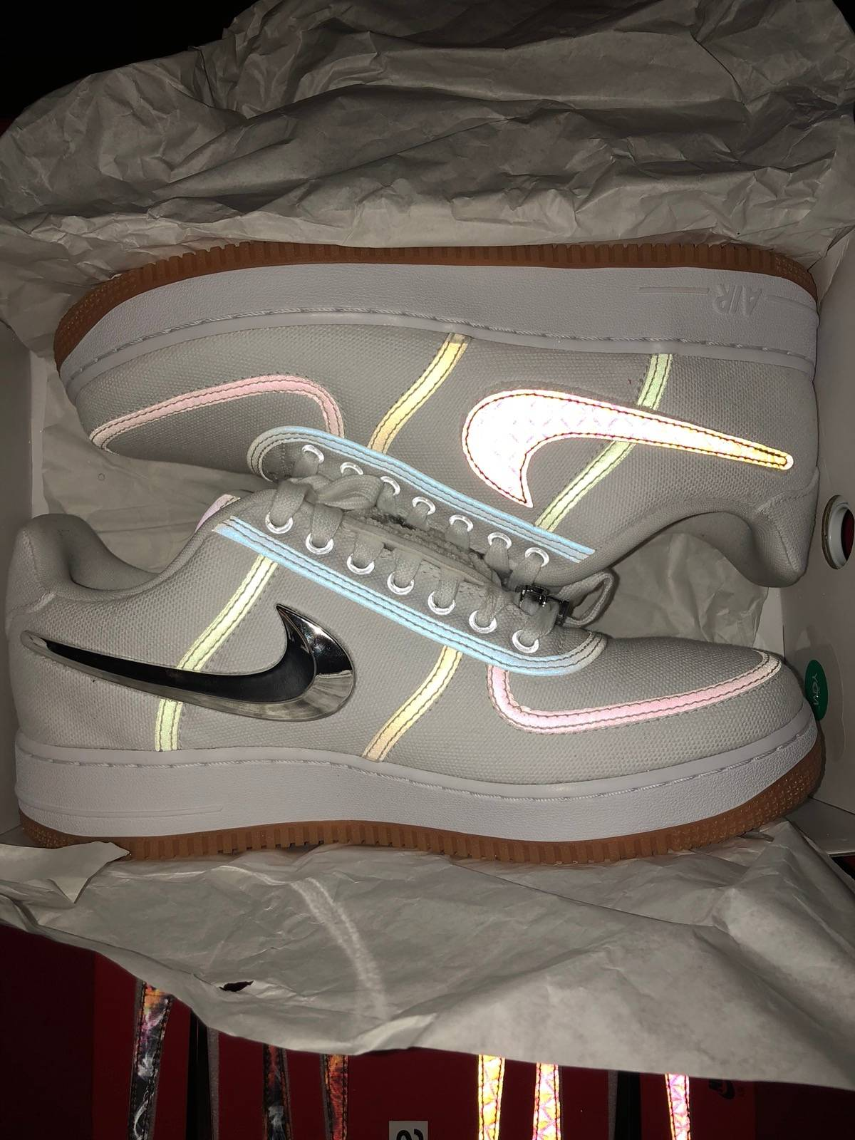 Nike Air Force 1 Low Travis Scott Size 8.5 - Low-Top Sneakers for Sale -  Grailed 1350f2209