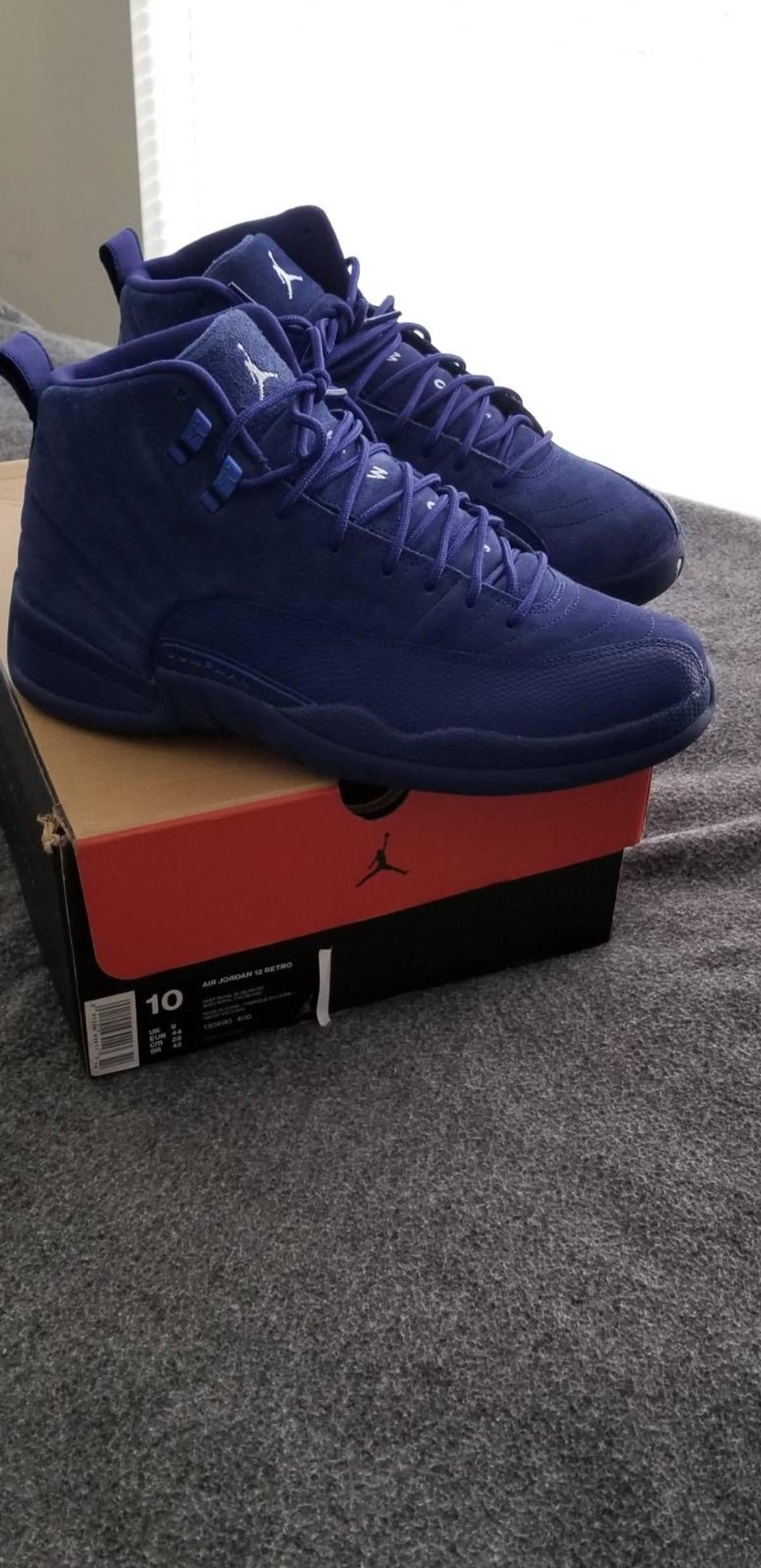 the best attitude 2ad2b 2da39 Jordan Brand Air Jordan 12s Blue Suede Size 10 $117