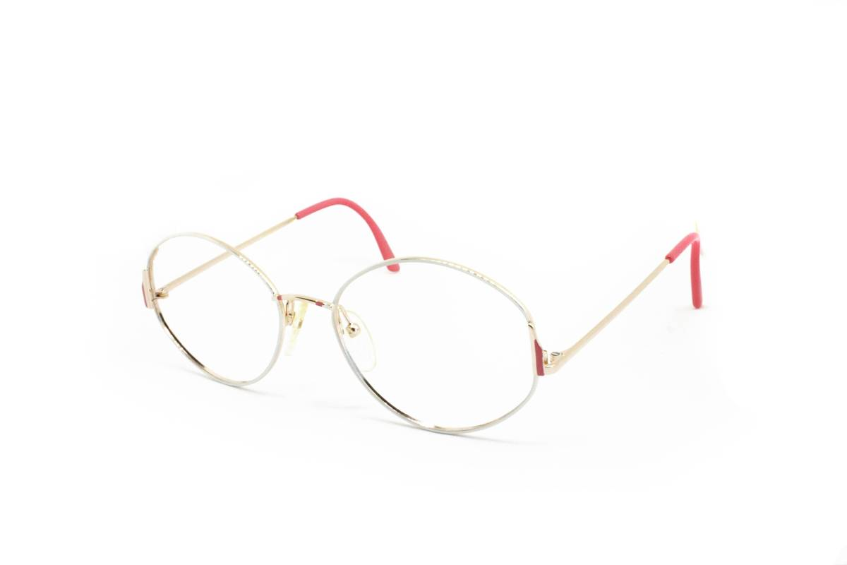 d25d975e330 Vintage Pink   white ladies glasses round pantos hand painted ESSILOR made  in France    vanity and pride womens