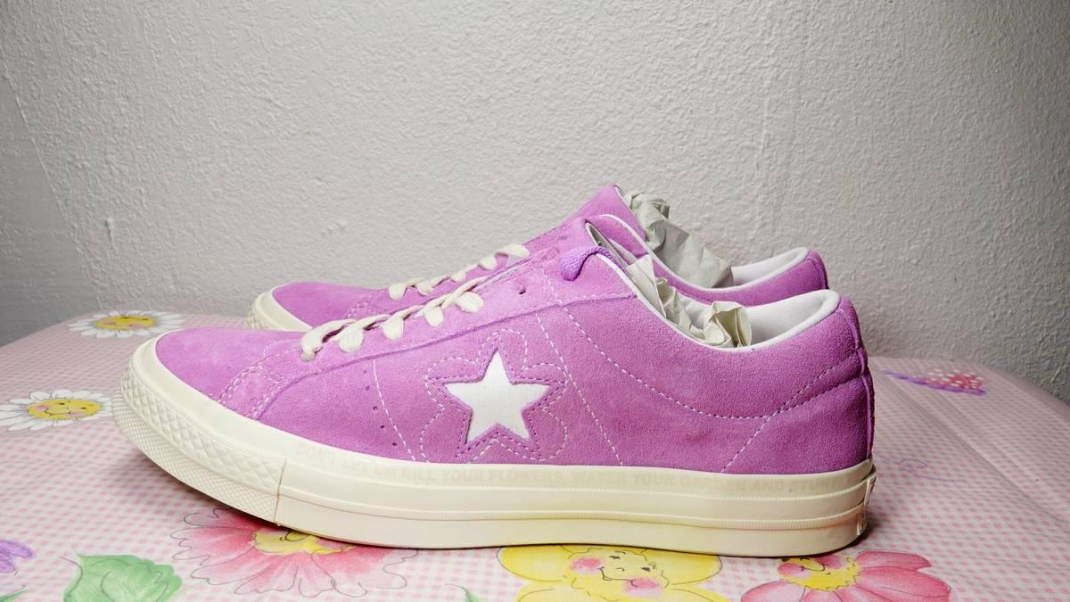 10024c4629f Golf Wang CONVERSE ONE STAR X GOLF LE FLEUR TYLER THE CREATOR fuschia purple  size 9 golfwang ofwgkta OF Size 9 - Low-Top Sneakers for Sale - Grailed