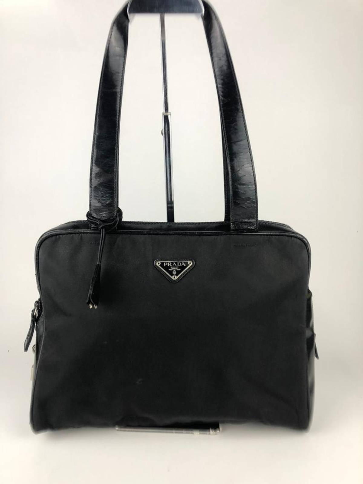 0ee8a22793c Prada Rare & Collection Authentic Prada Nylon Black Tote Bag / Prada ...