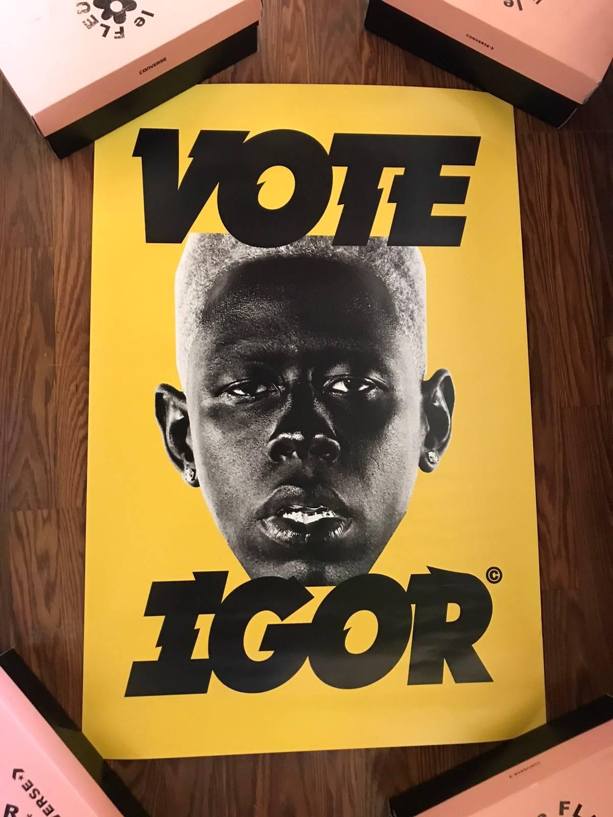 Odd Future Vote Igor Poster   Grailed