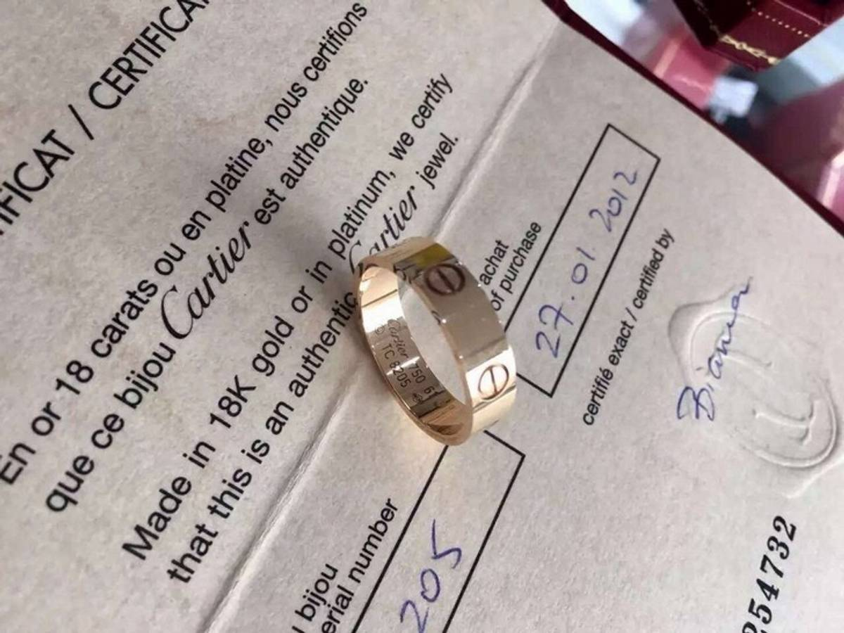 61f040a1368f Cartier. Used Cartier love ring ...
