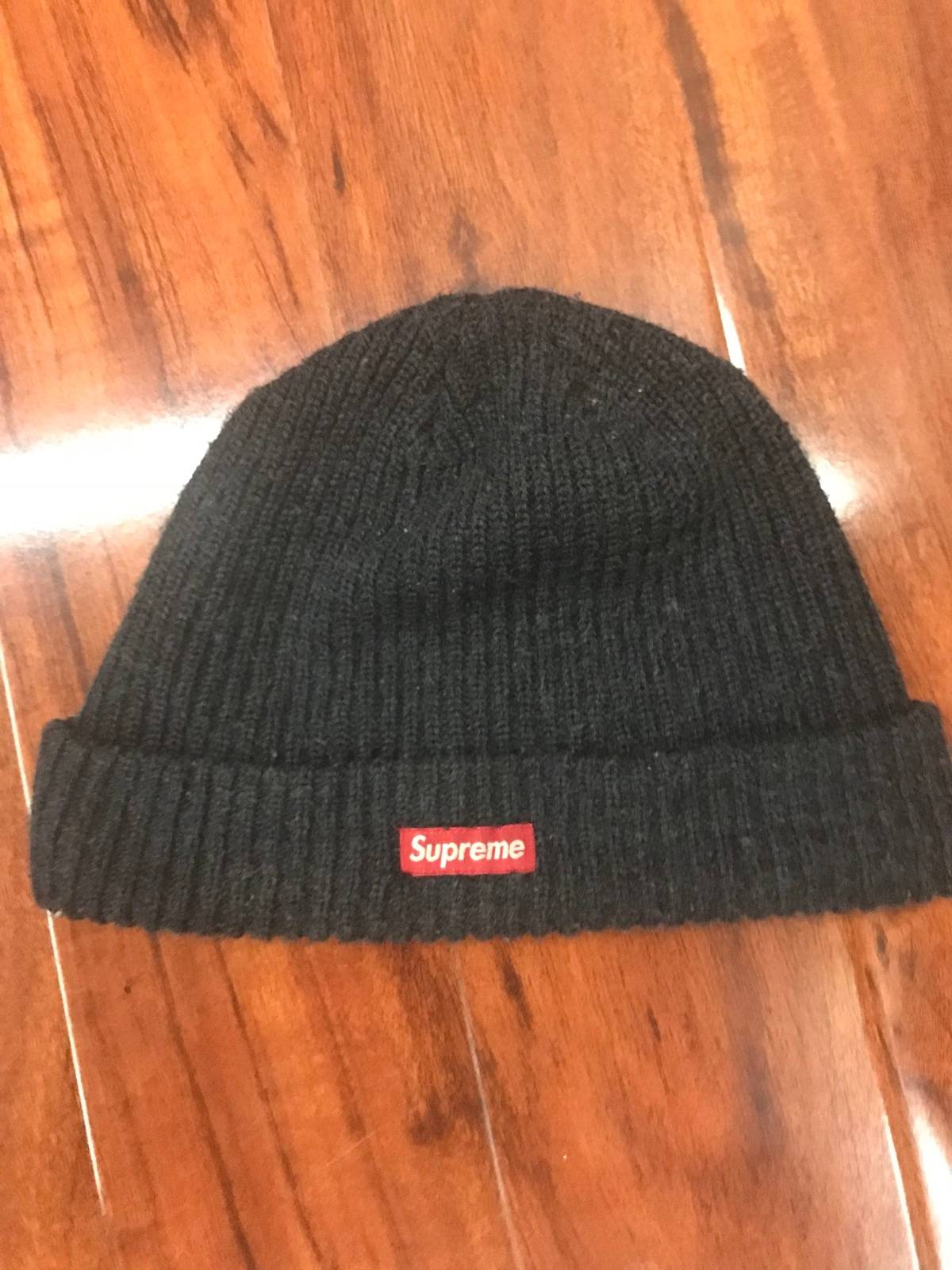 f43bfd60c9fec Supreme Fw 17 Loose Gauge Beanie Navy