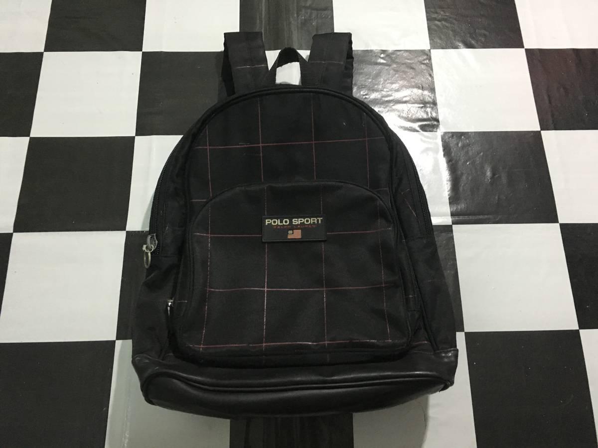57cf5d57febb Ralph Lauren Sport Vintage Polo sport backpack plaid ralph lauren ...