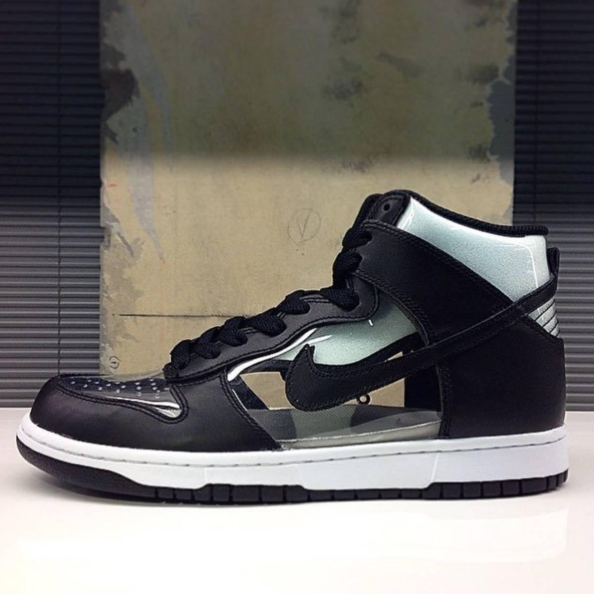 5a60cb192b84 Nike × Comme Des Garcons Homme Plus. Dunk Hi Retro CDG. Size  US 9 ...