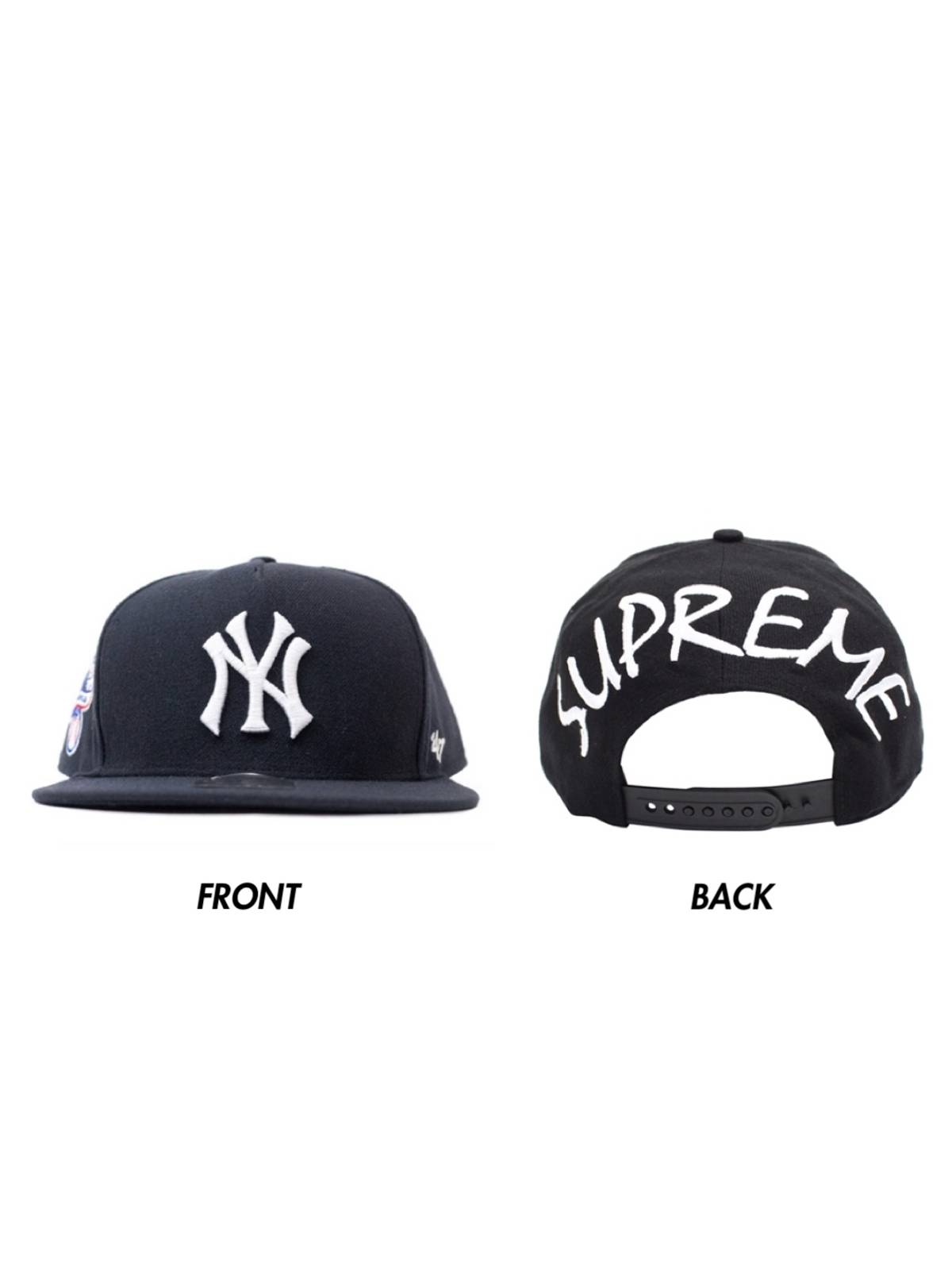 Supreme Supreme Yankees 5 Panel Snapback Hat (ss15) | Grailed