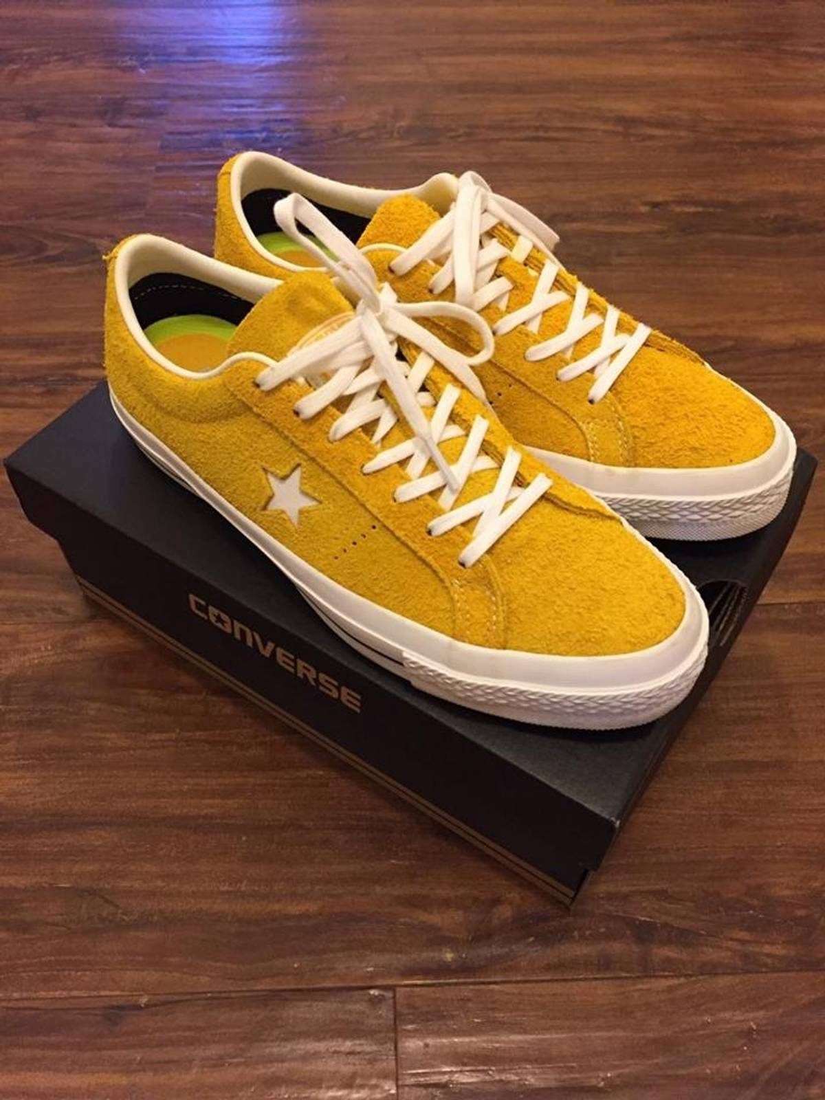 bcd16273d12774 Converse One Star Hairy Suede Pack (Yellow) Size 8 - Low-Top Sneakers for  Sale - Grailed