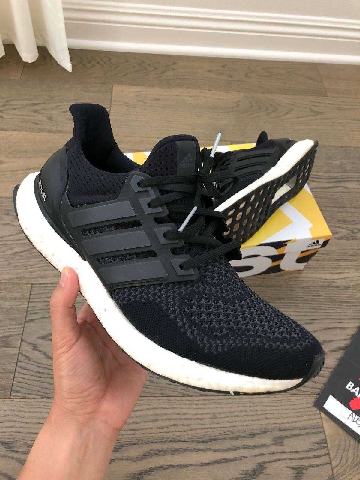 70fcf5843f15e Adidas Ultra Boost 1.0 Core Black Size 9 - Low-Top Sneakers for Sale ...