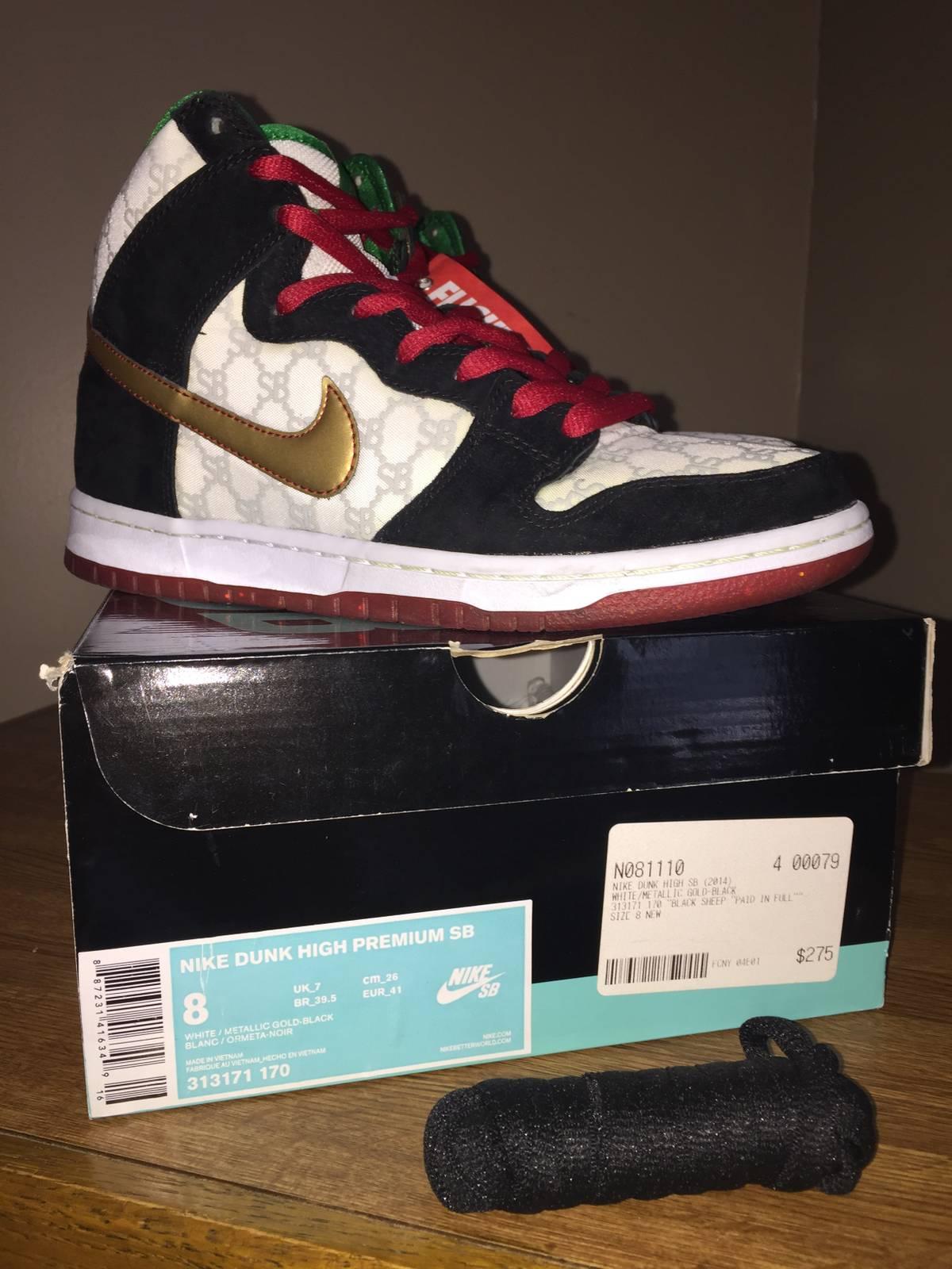 a6d5a1855662 Nike Nike Dunk High Sb