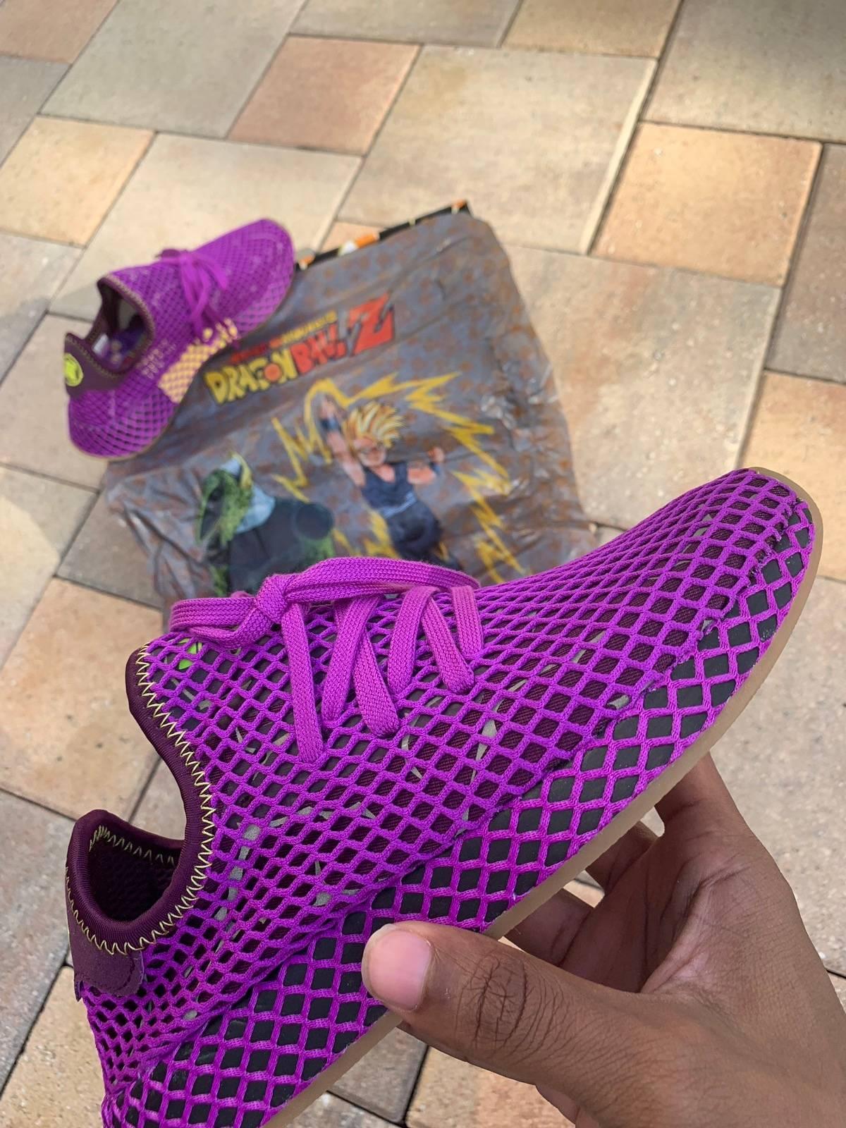 "Adidas Adidas X Dragon Ball Z Deerupt ""Gohan"" Size 6.5 $98"