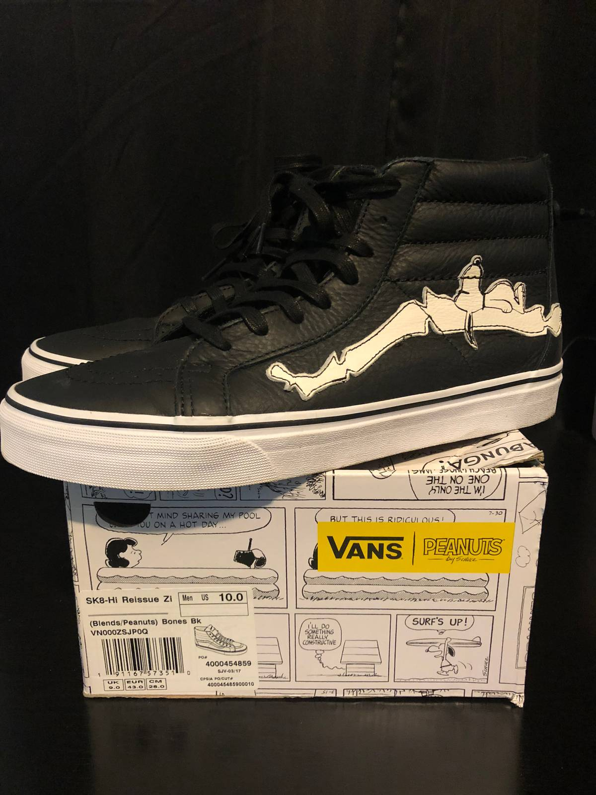72dcb7c87d Vans BLENDS X VANS VAULT SK8 HI REISSUE ZIP LX PEANUTS BONES M Size 10 Size  10 - Hi-Top Sneakers for Sale - Grailed