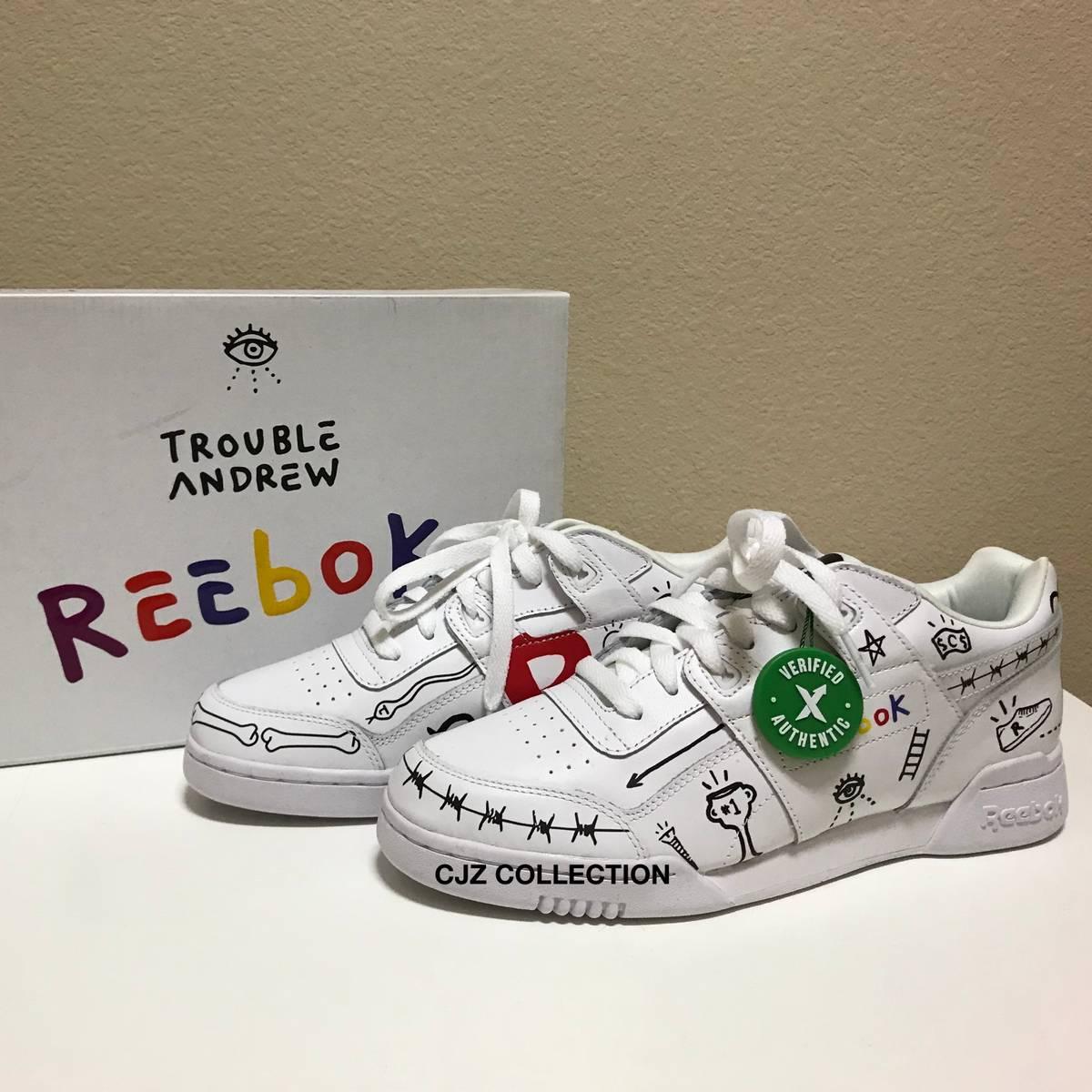 32b641bd8d1 Reebok Rare Reebok X Trouble Andrew 3 Am Workout Plus Sneakers