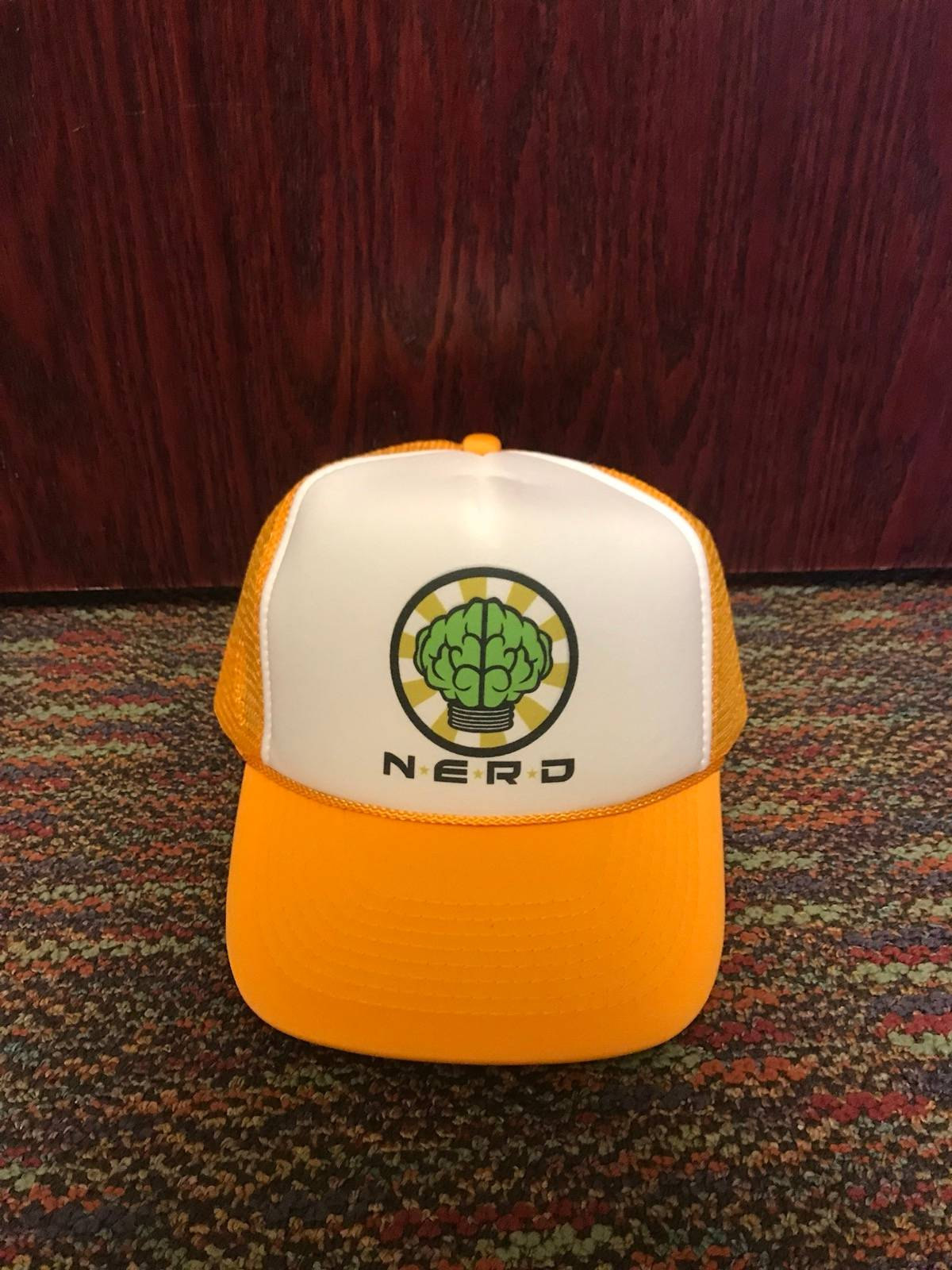 Pharrell N.E.R.D Trucker Hat Size one size - Hats for Sale - Grailed add422f1c77