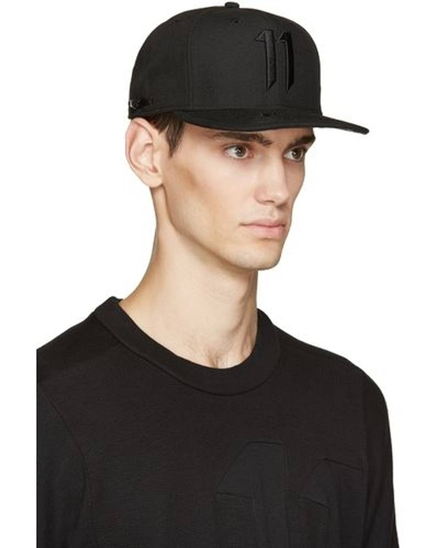 11 By Boris Bidjan Saberi Embroidered 11 Hat Size one size - Hats ... 931e8b023d9