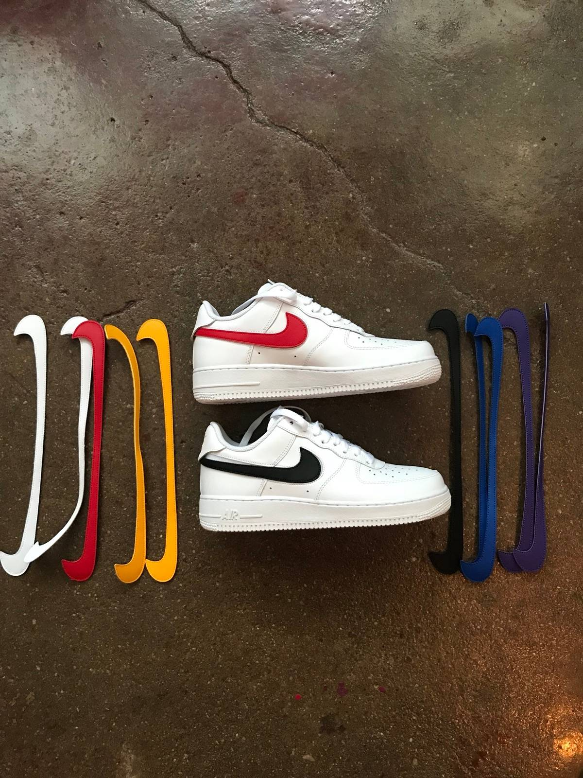 cheap for discount 17d67 dd770 Nike Nike Air Force 1 Low Swoosh Pack All Star 2018 White Size 8 $200