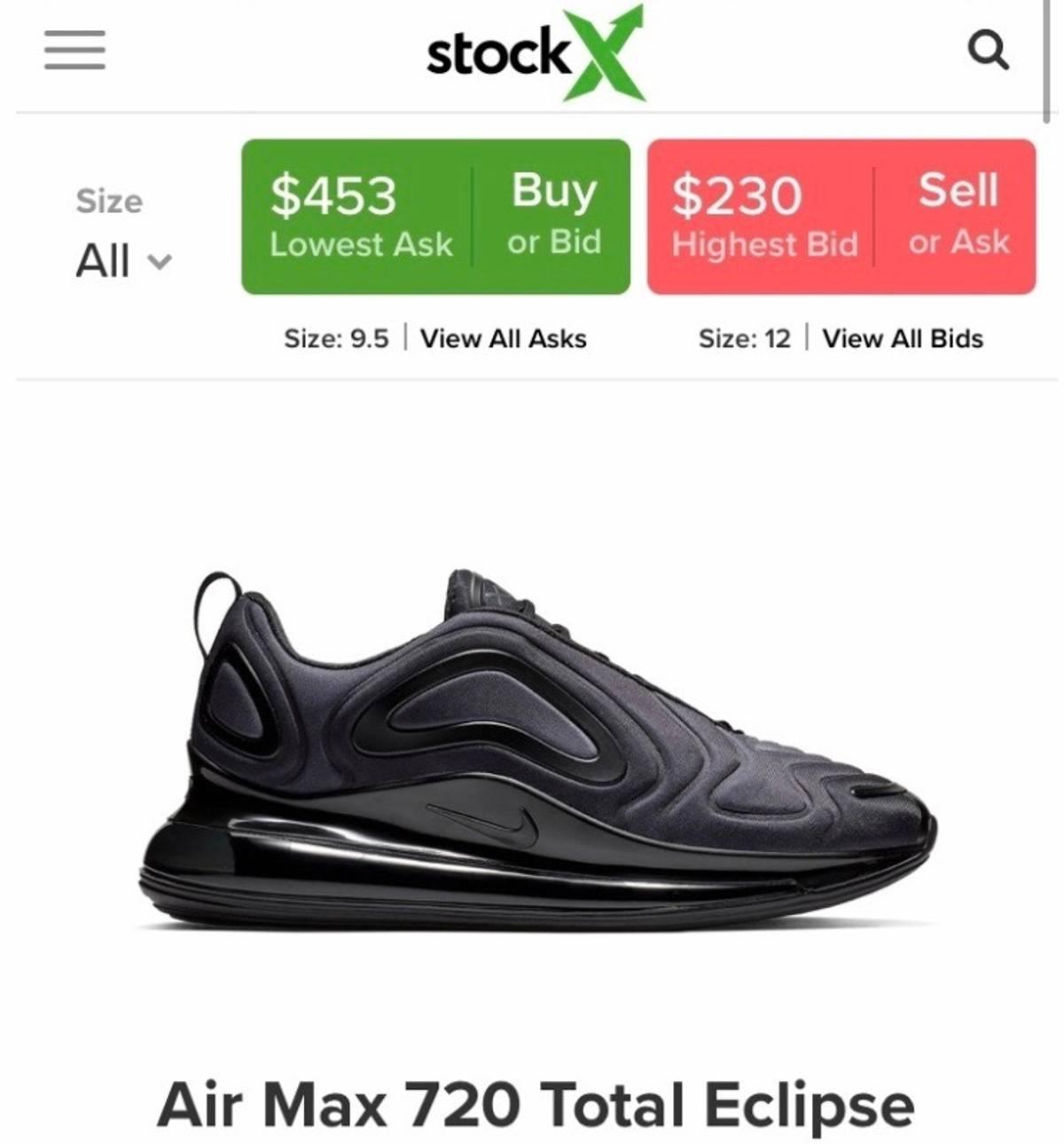 Air 720 5294 Nike EclipseunreleasedSize Max 9 Total UVGqSpzM