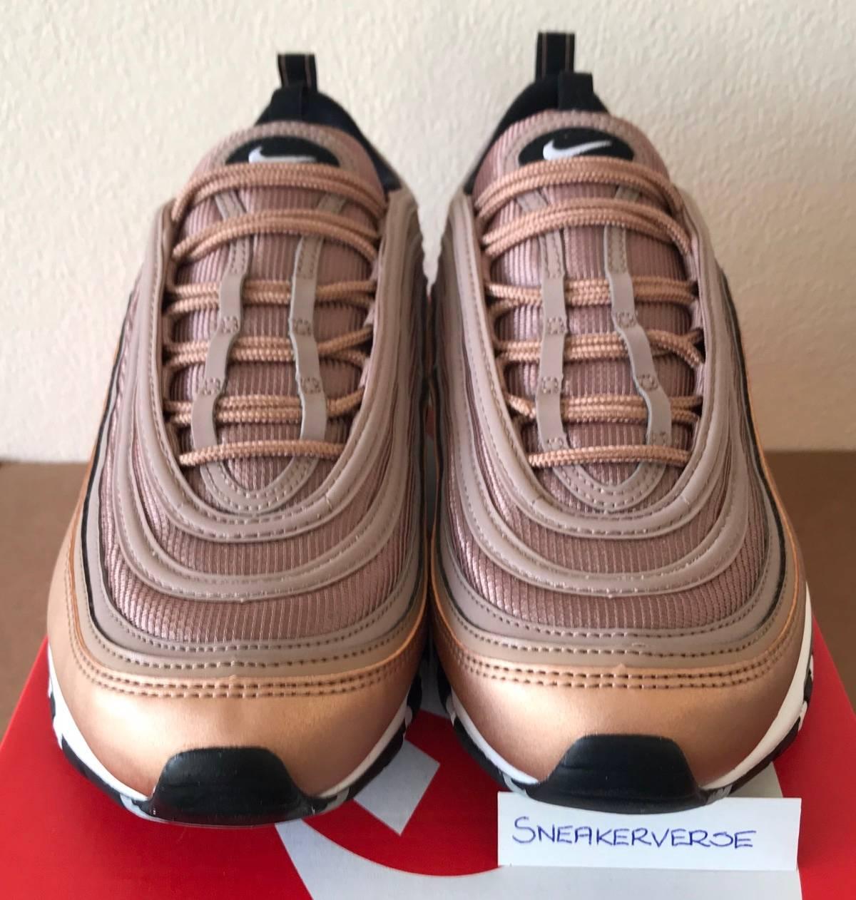 07b16752b019d Nike Nike Air Max 97 'Desert Dust' 921826 200 Metallic Bronze Size 10.5 $315