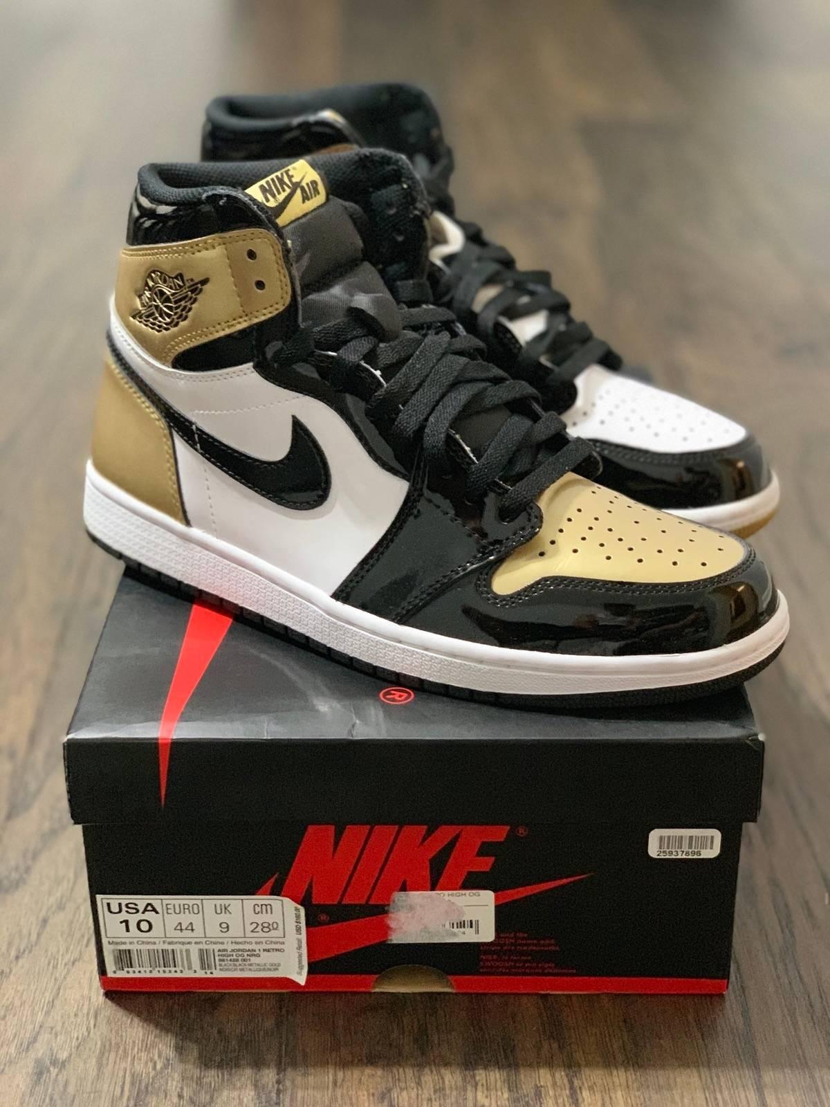 reputable site b93ea d65d3 Jordan Brand × Nike Nike Air Jordan 1 Retro High Nrg Top 3 Gold Toe — Size  10 Size 10 $375
